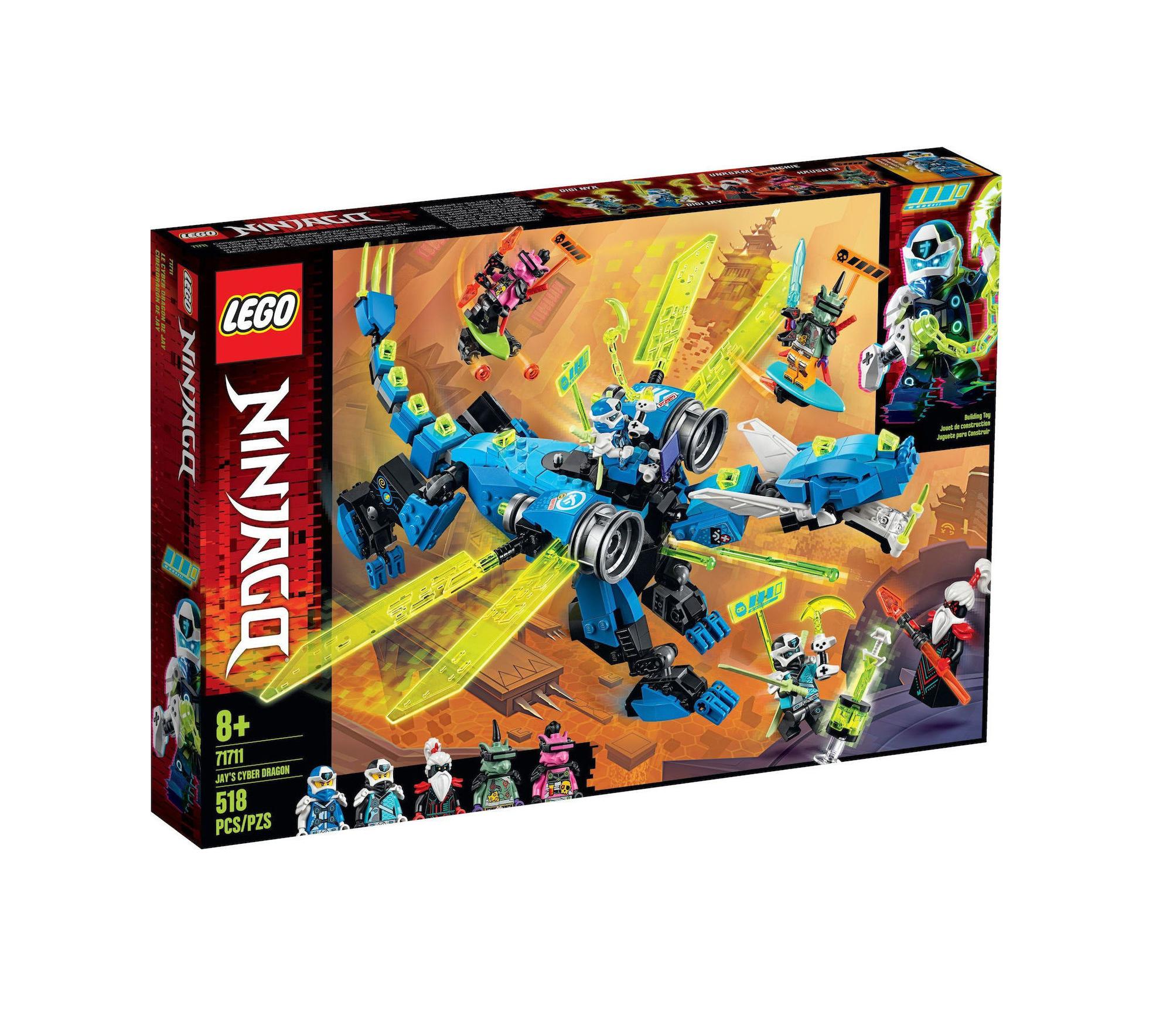 Lego Ninjago: Jay's Cyber Dragon 71711