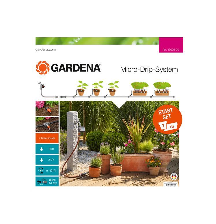 Gardena Micro-Drip Starter Set Flower Pots M automatic 13002-20