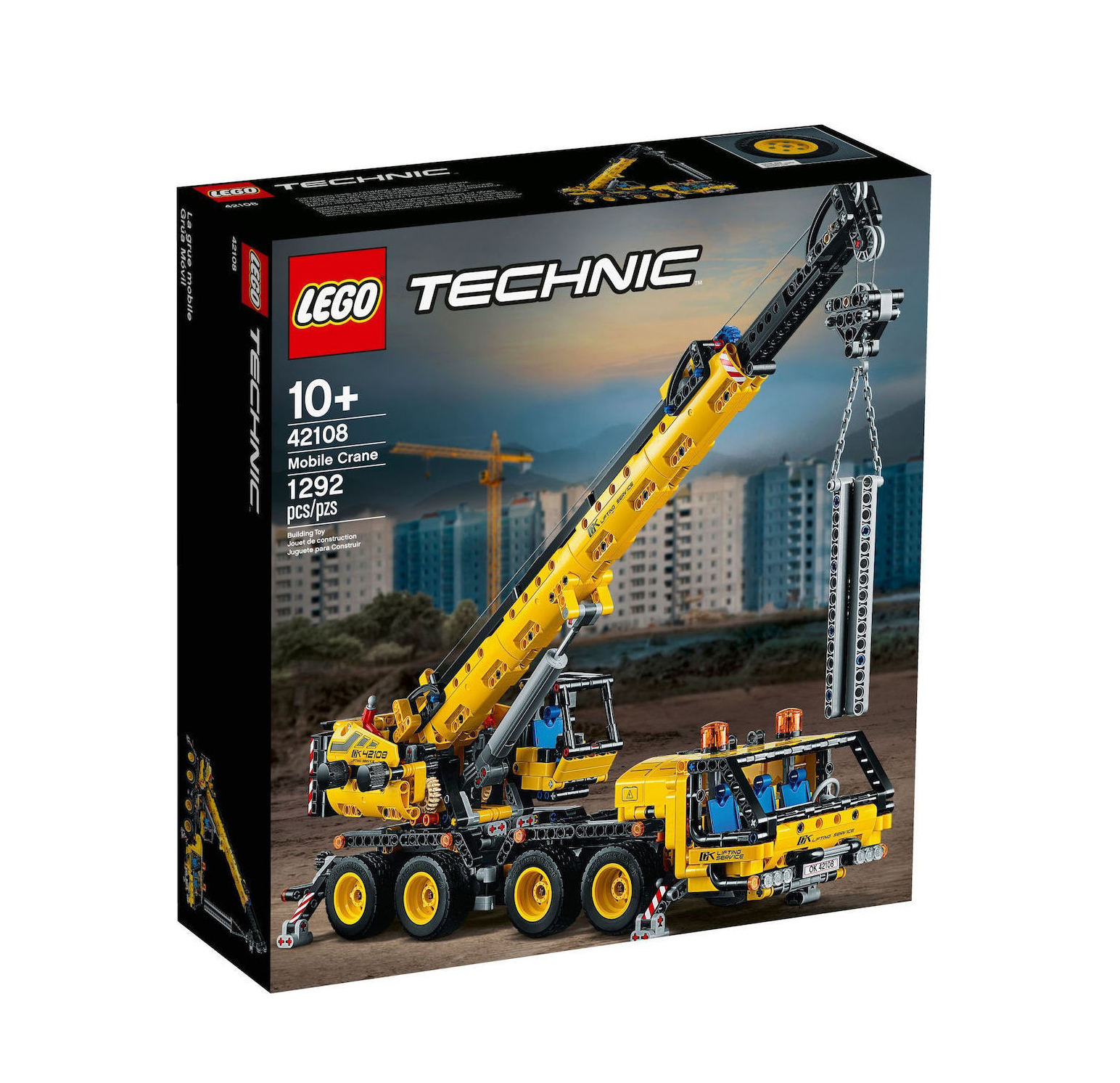 Lego Technic: Mobile Crane 42108
