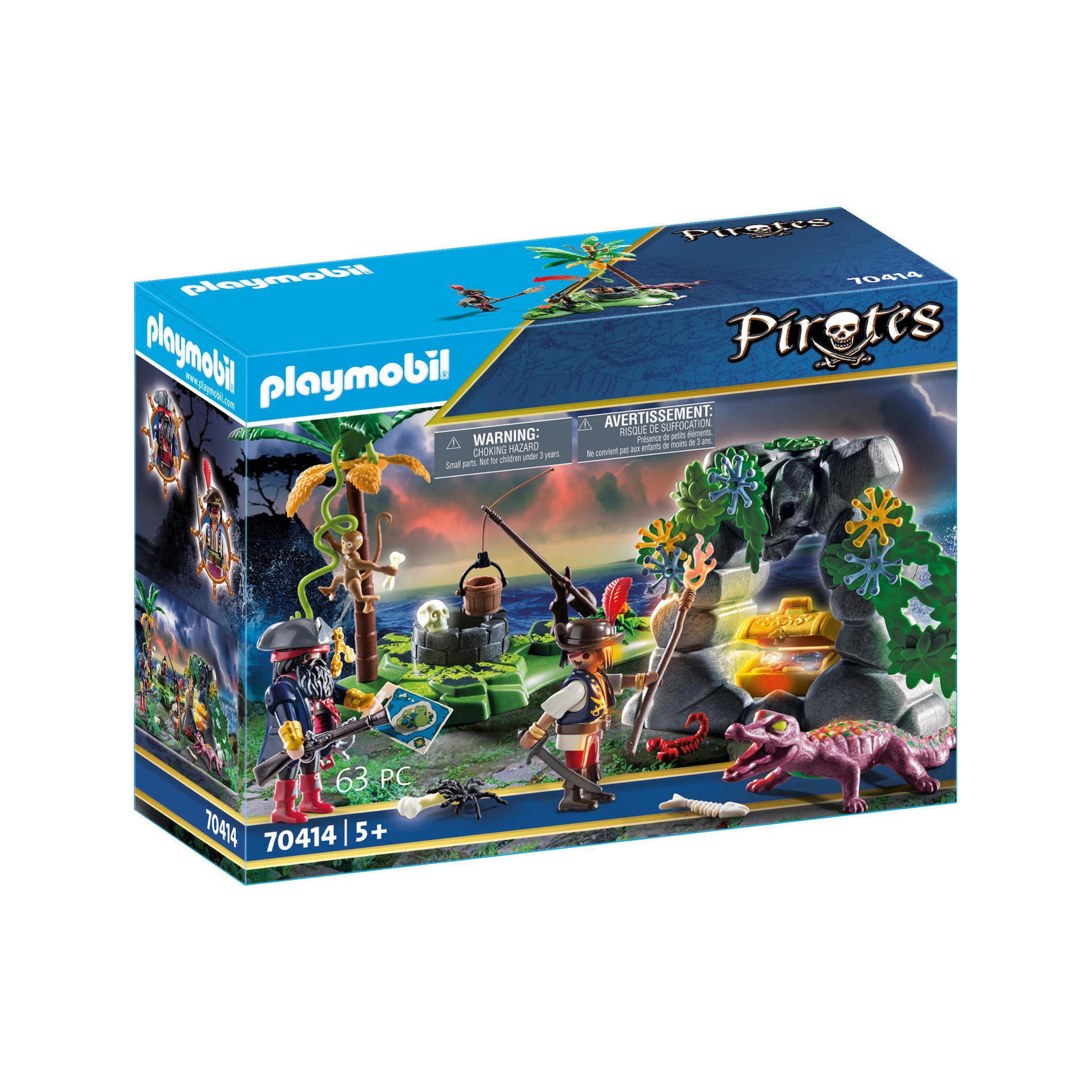 Playmobil Pirates: Pirate Hideaway 70414