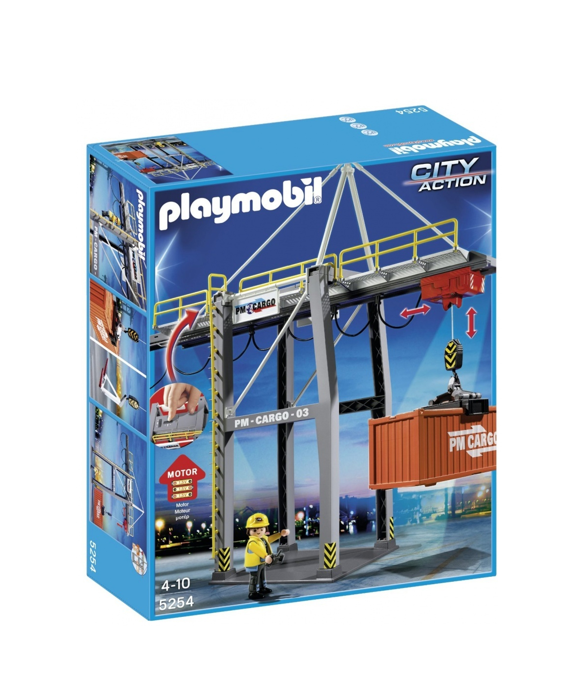 Playmobil Electrical Loading Terminal Construction Toys 5254