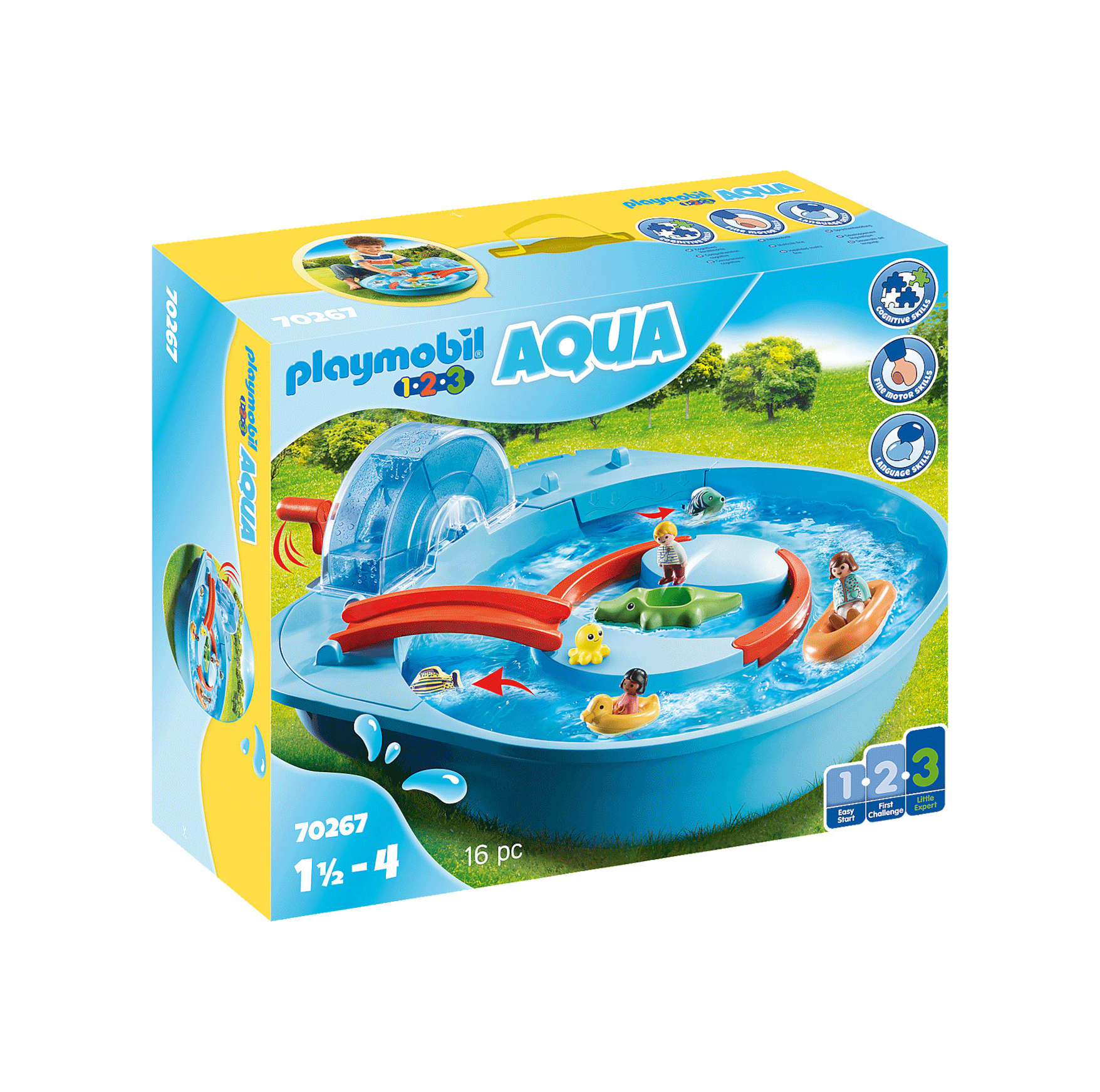 Playmobil 123: Aqua-Water Ride 70267
