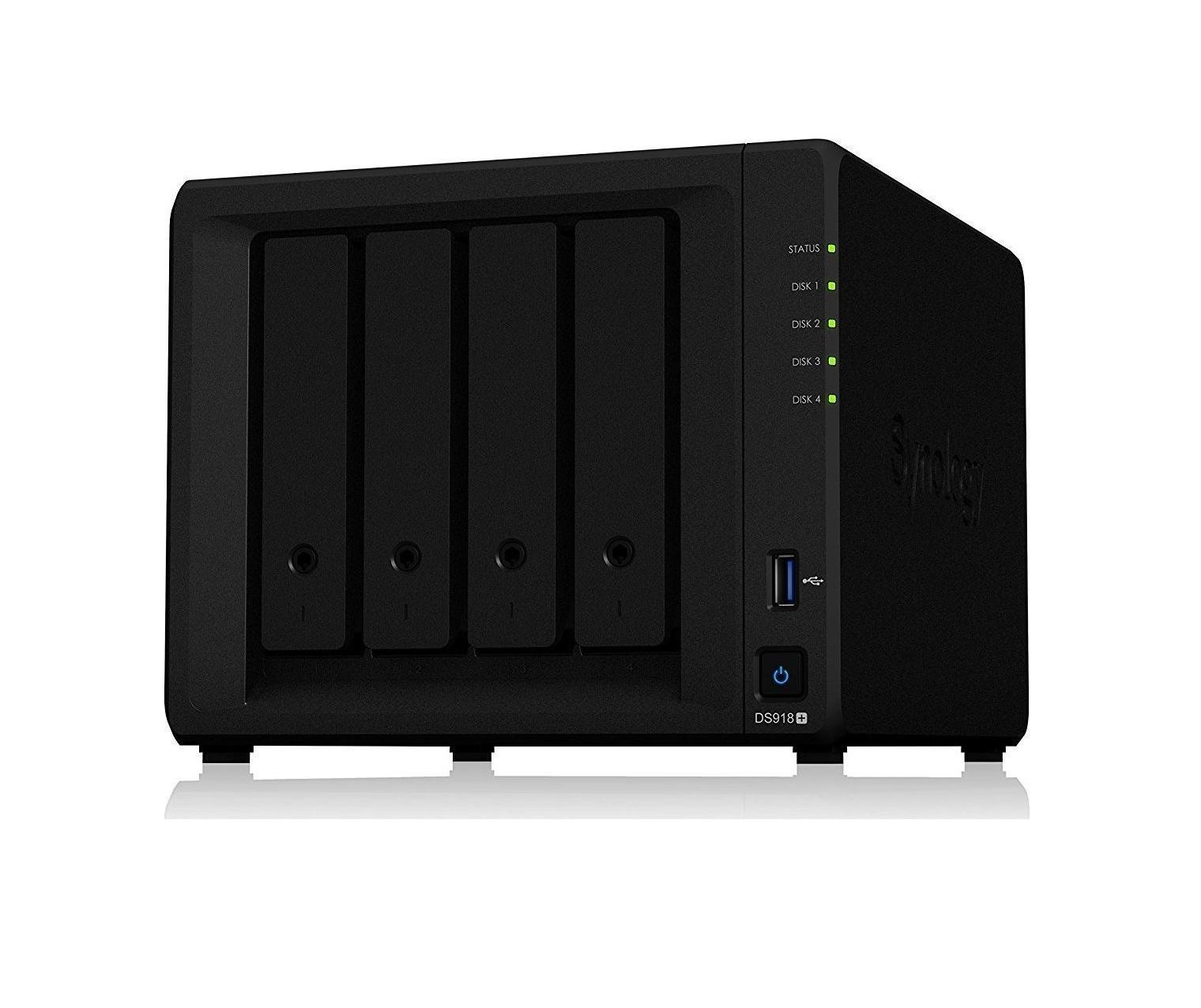 Synology DiskStation DS918+  NAS Server Πληρωμή έως 24 δόσεις