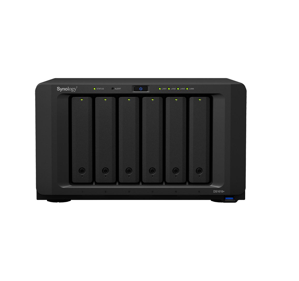 Synology DiskStation DS1618+  NAS Server Πληρωμή έως 24 δόσεις