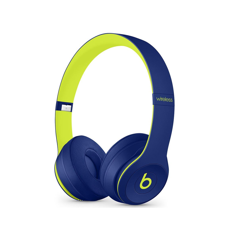 Beats by Dr.Dre Solo3 Wireless Pop Indigo Headphones MRRF2ZM