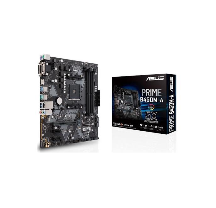 Asus Prime B450M-A Μητρική Κάρτα 90MB0YR0-M0EAY0