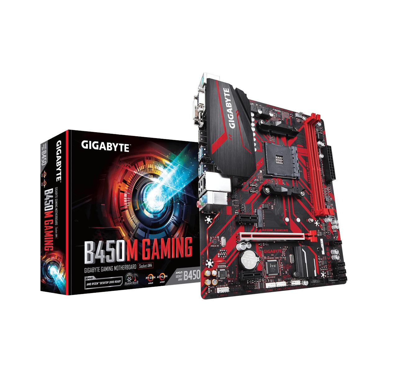 Gigabyte Aorus B450M Gaming Μητρική Κάρτα GA-B450M-GAMING