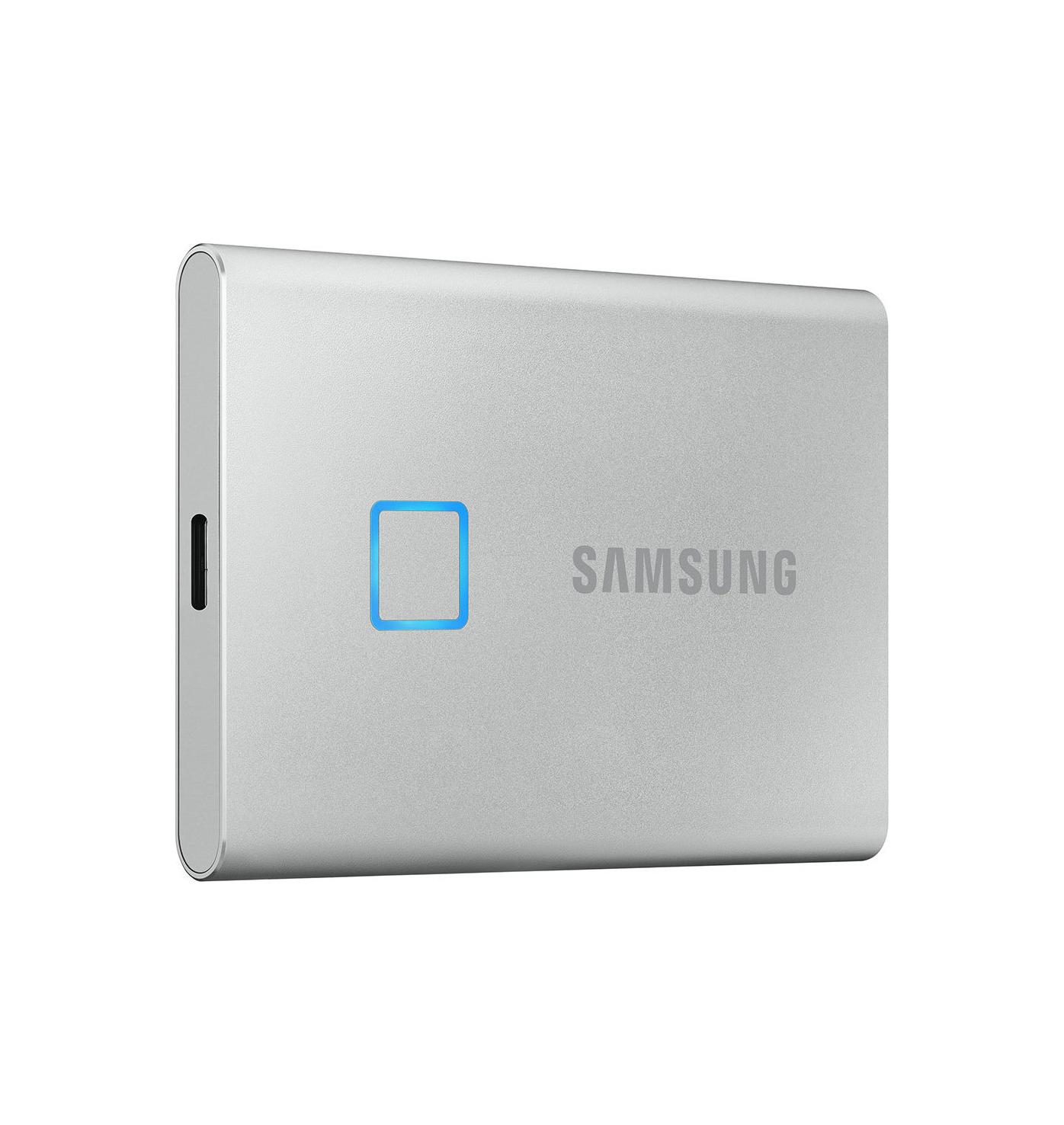 Samsung T7 Touch 500GB MU-PC500S/WW Εξωτερικός Σκληρός Δίσκος*  Silver