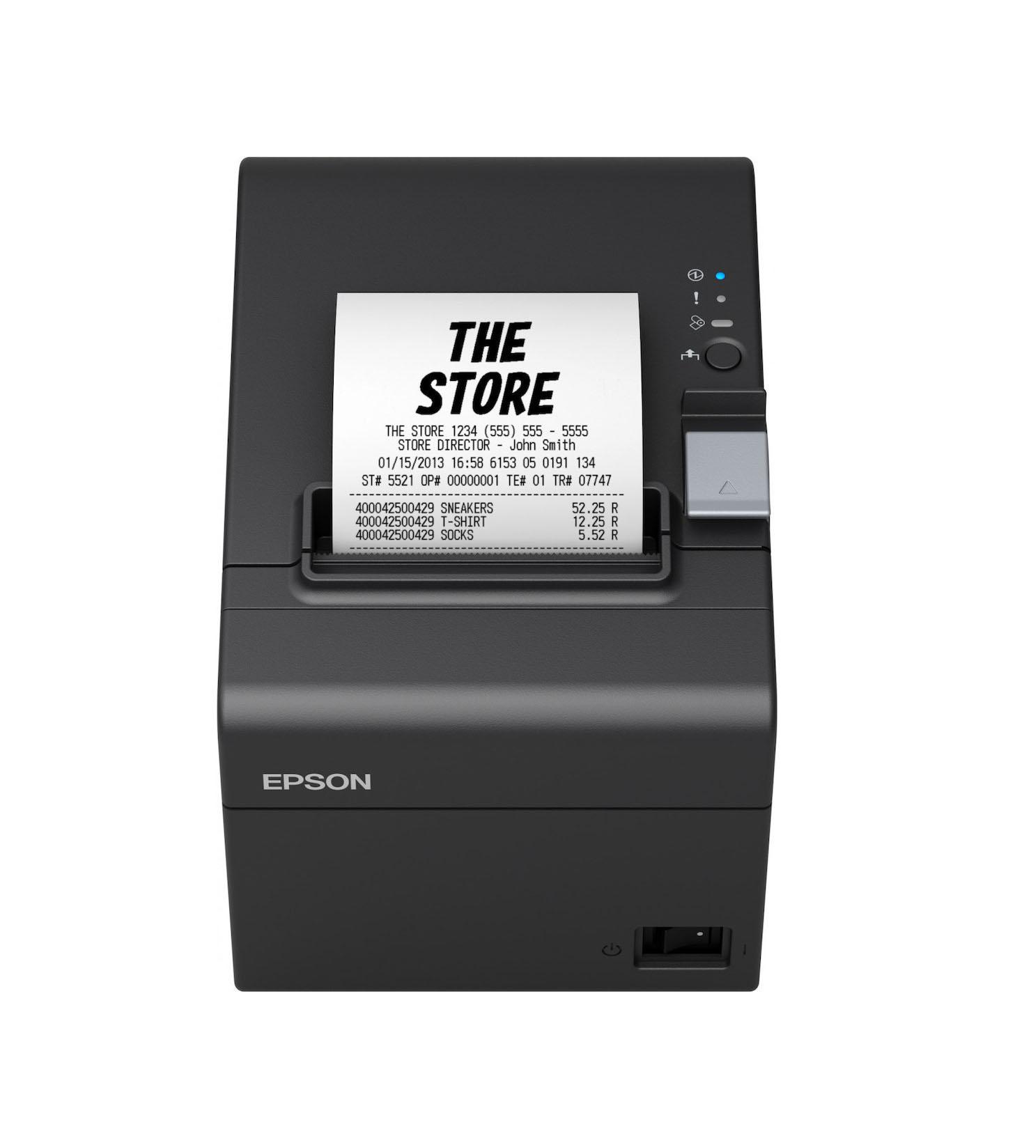 Epson TM-T20III 011 USB / Serial Εκτυπωτής Αποδείξεων C31CH51011