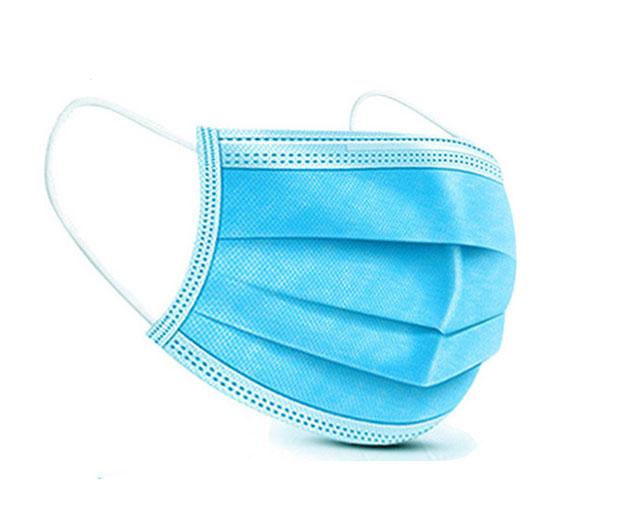 Μάσκα Προστασίας Τύπου Χειρουργική 3 Στρωμάτων (3-ply) Μιάς Χρήσεως 10 Τμχ
