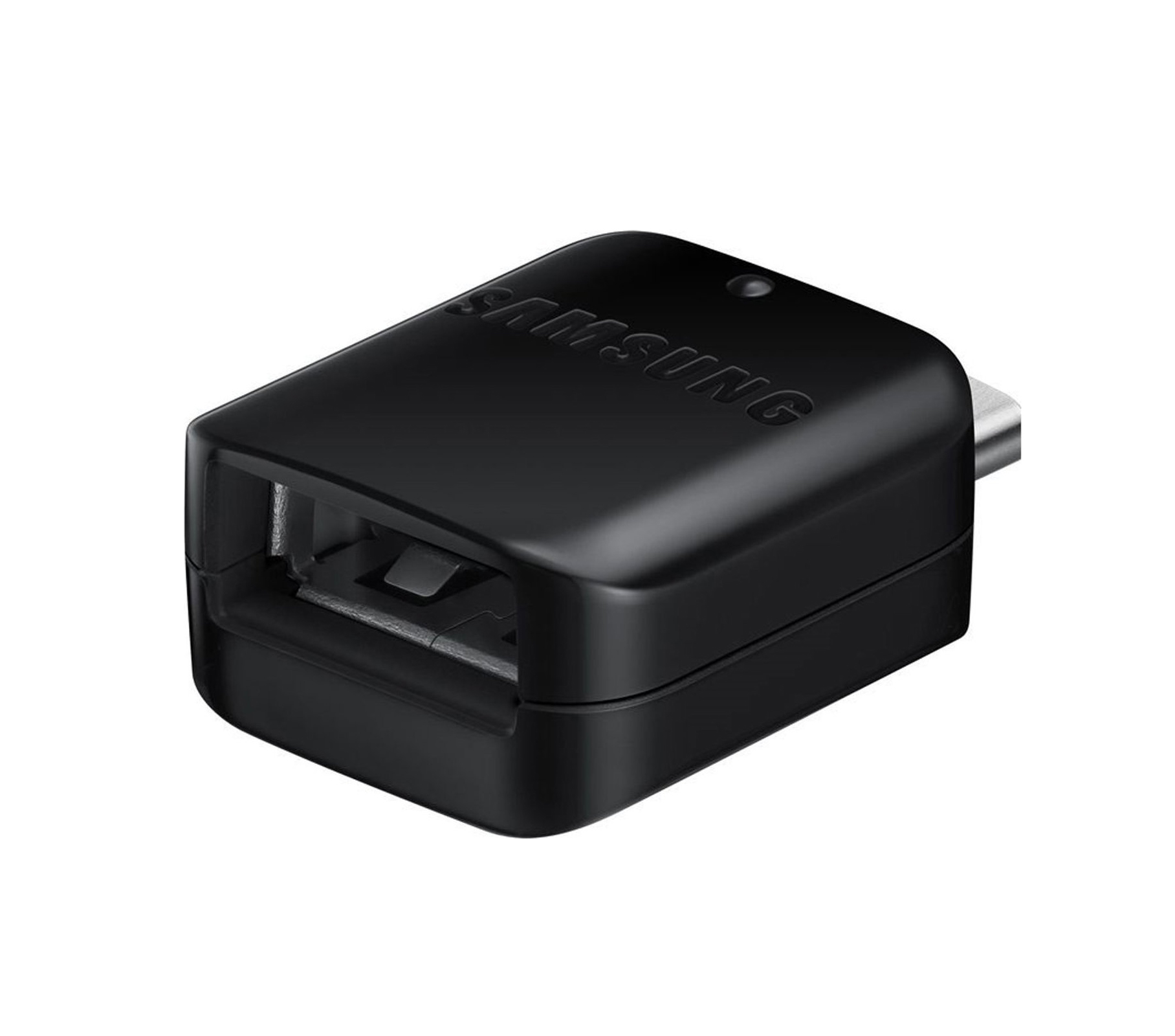 Samsung USB-C male - micro USB female GH98-41288A  Αντάπτορας Black Bulk
