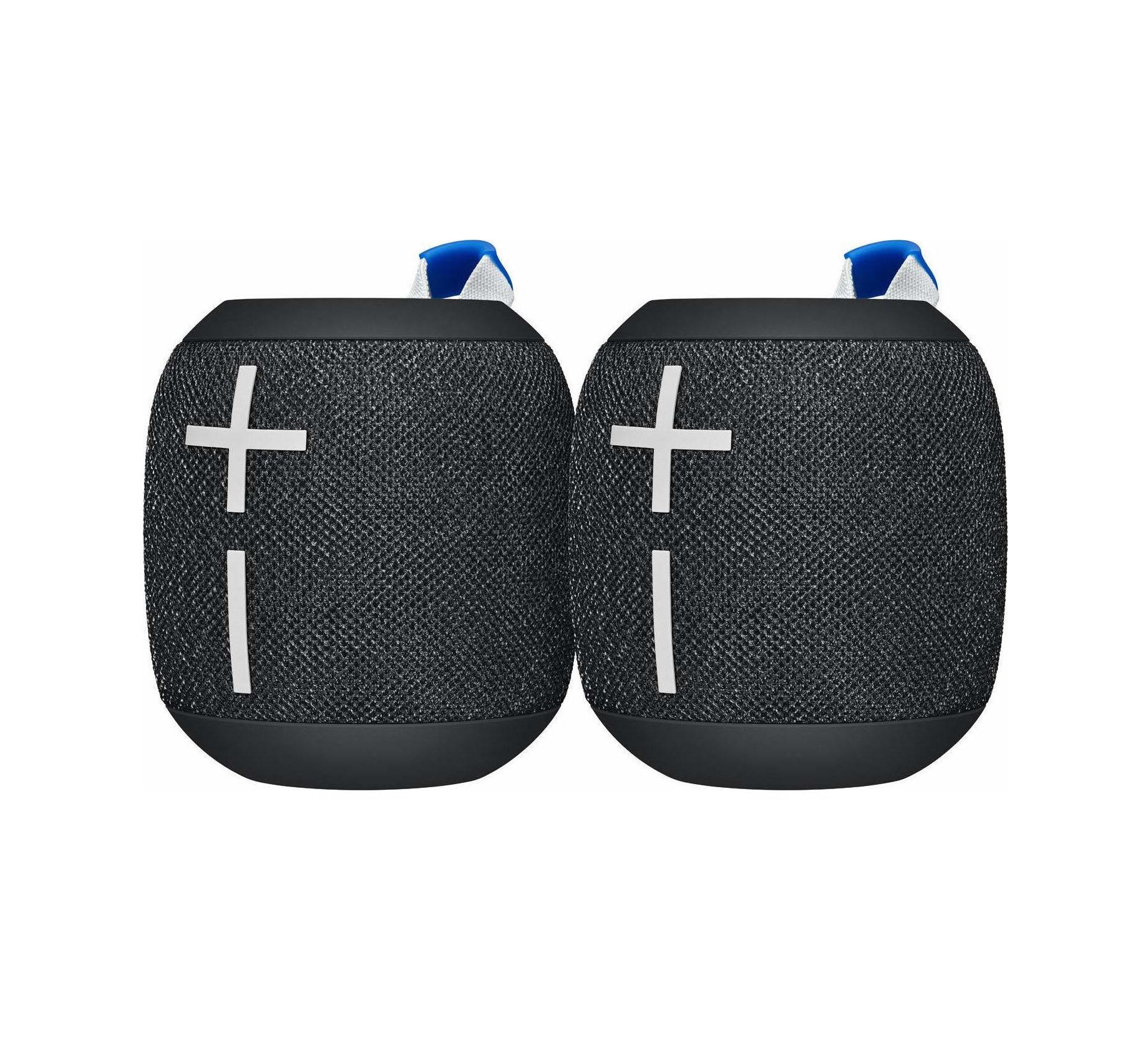 Ultimate Ears Wonderboom 2 Bluetooth Ηχείο Duo Pack Black 984-001658 Πληρωμή έως 24 δόσεις