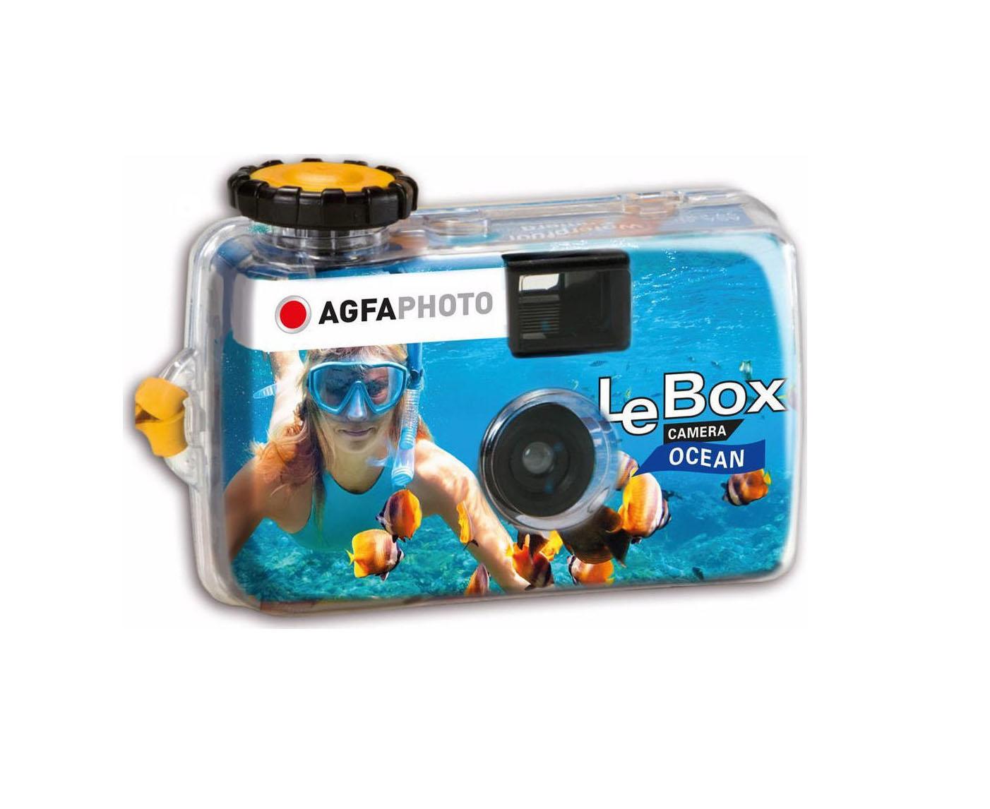 AgfaPhoto LeBox Ocean Αναλογική Φωτογραφική Μηχανή 601100
