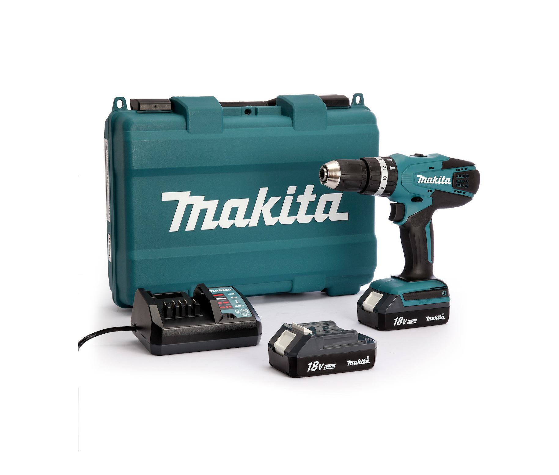 Makita HP457DWE 18V 1x1.5Ah Δραπανοκατσάβιδο Πληρωμή έως 24 δόσεις