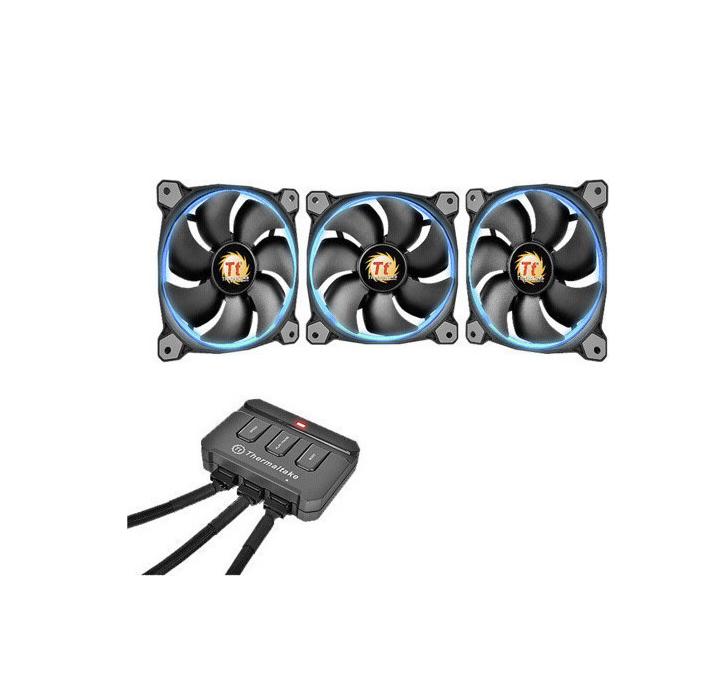Thermaltake Riing 12 LED RGB 120mm (3 Packs) CL-F042-PL12SW-B