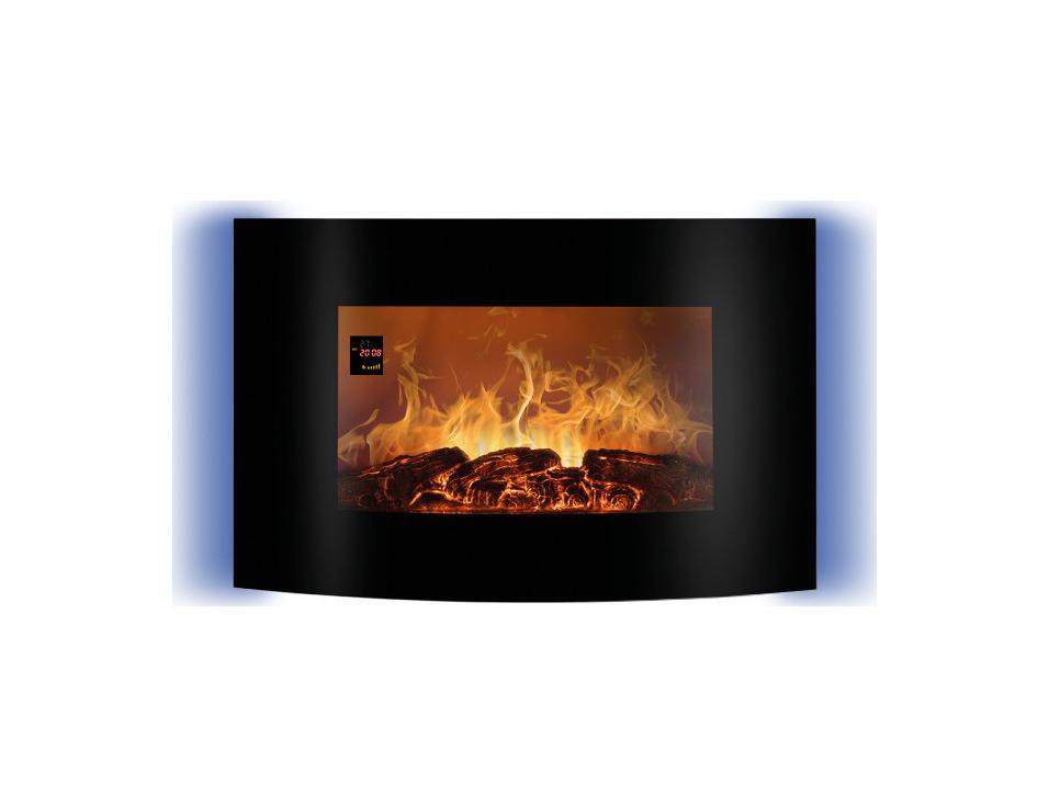 Bomann EK 6021 CB black Electric Fireplace 660211
