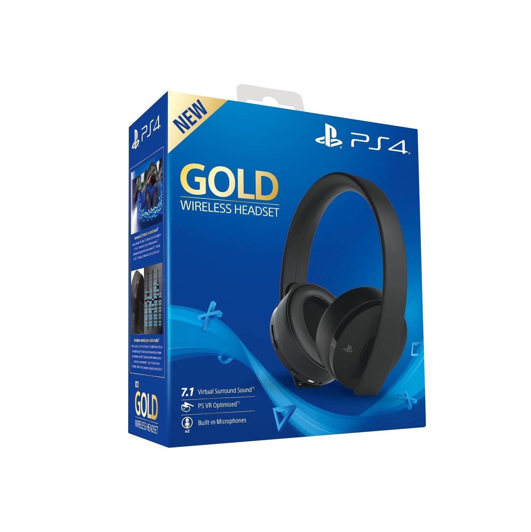 Sony Gold Edition Wireless Gaming Headphone 9455165