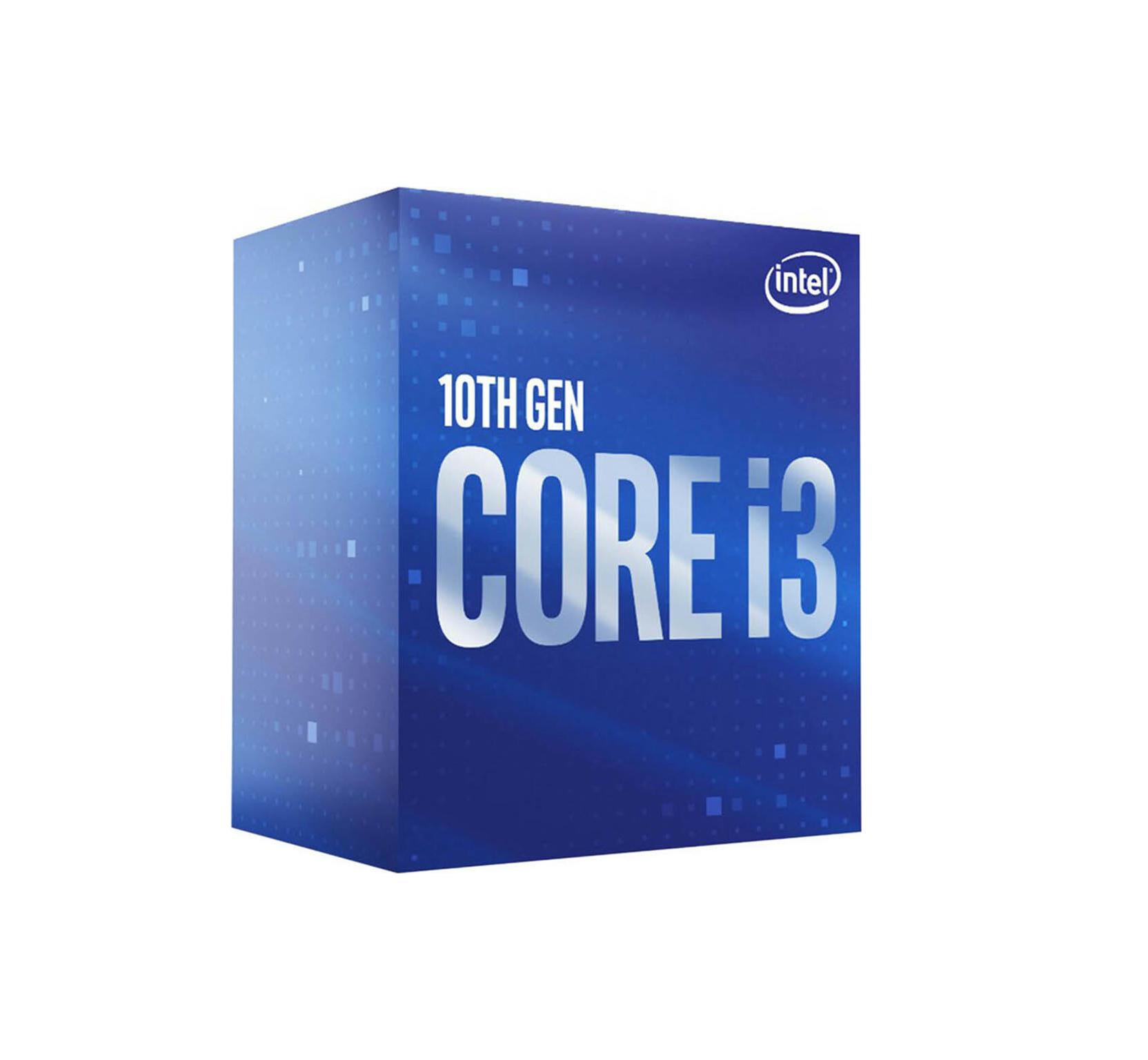 Intel Core i3-10100 Box Επεξεργαστής (BX8070110100) Πληρωμή έως 24 δόσεις