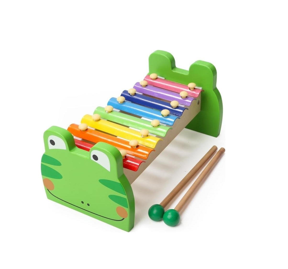Frog Xylophone Green Ξυλόφωνο 7136