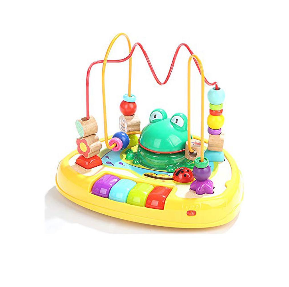 Sound Frog bead Maze 120328
