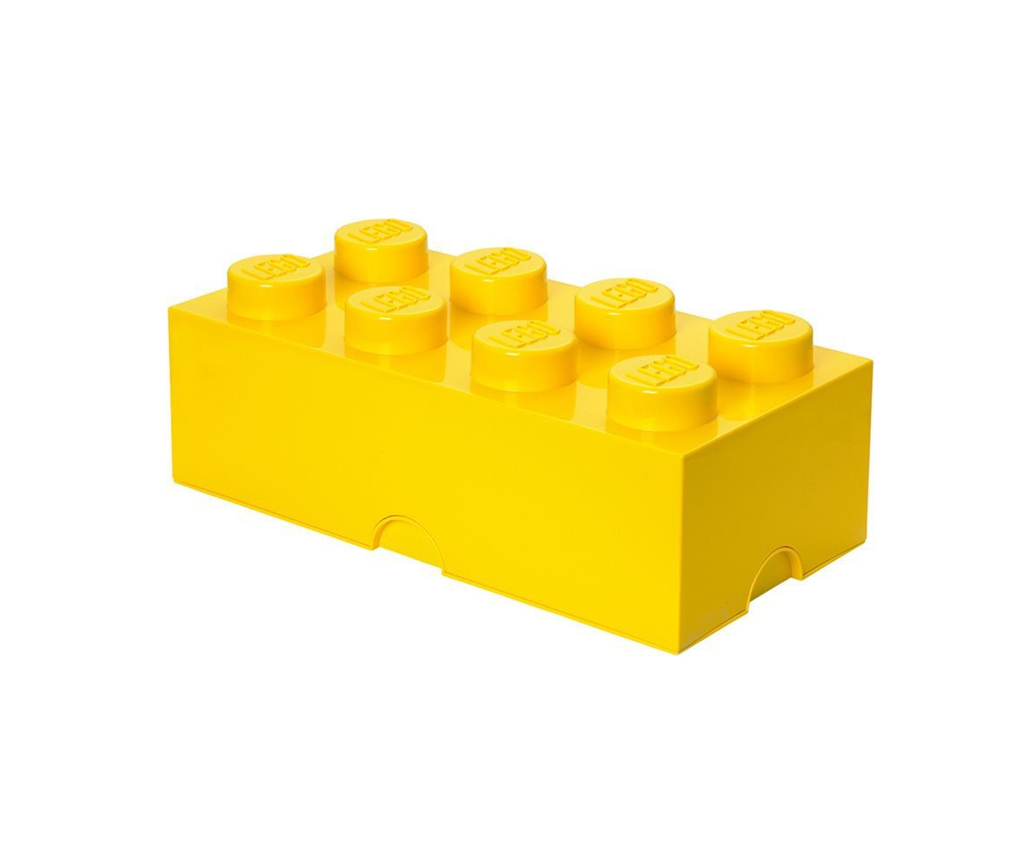 LEGO Storage Brick 8 Yellow Κουτί Αποθήκευσης 299021