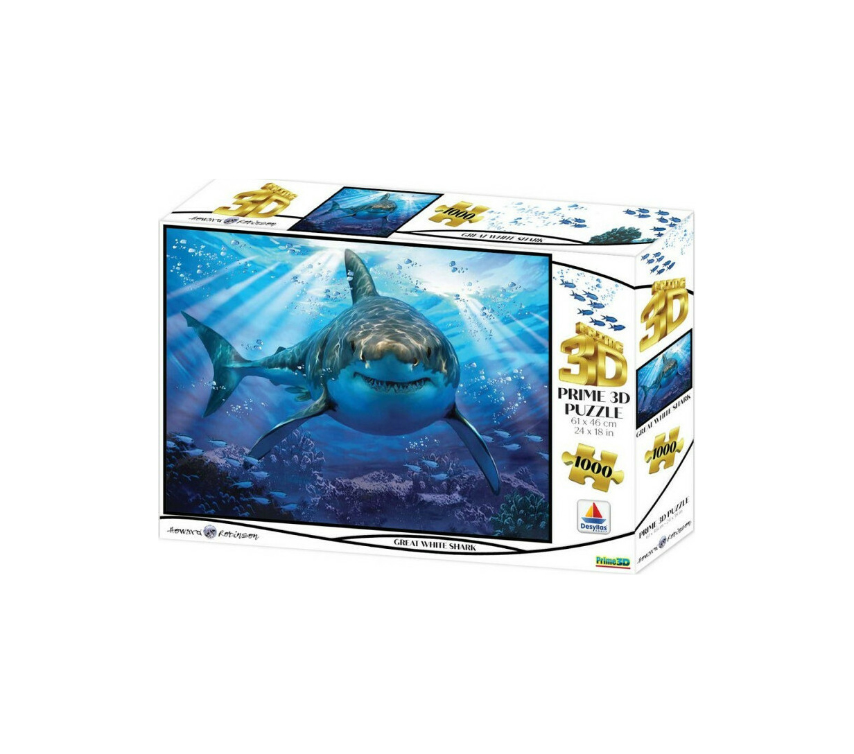 Howard Robinson - Great White Shark 1000pcs Puzzle 16001