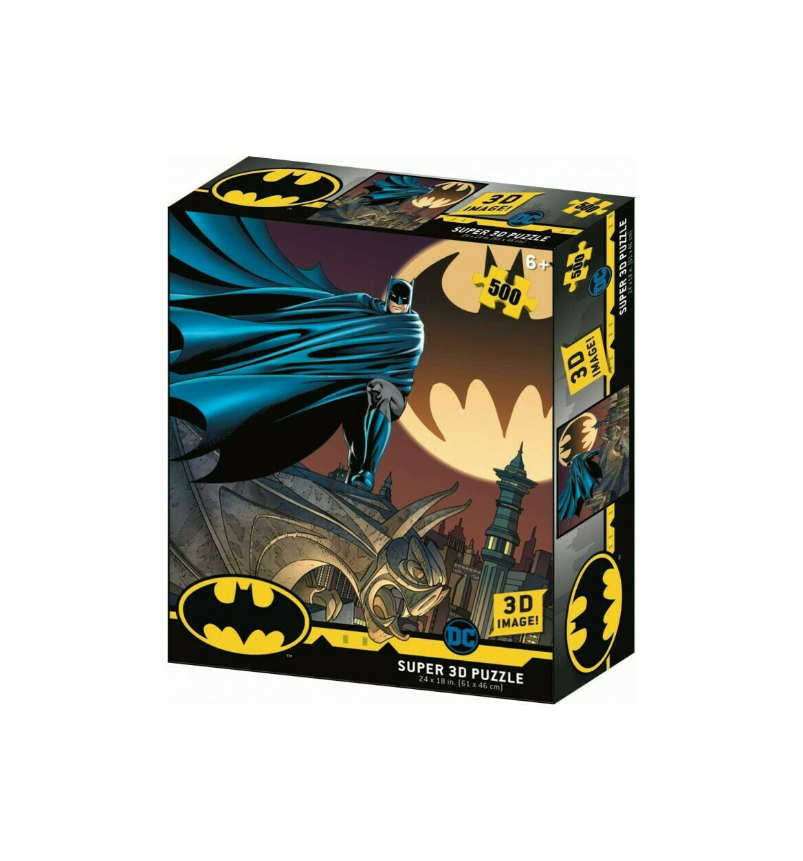 DC Comics Batman Bat Signal 500pcs Puzzle  32518