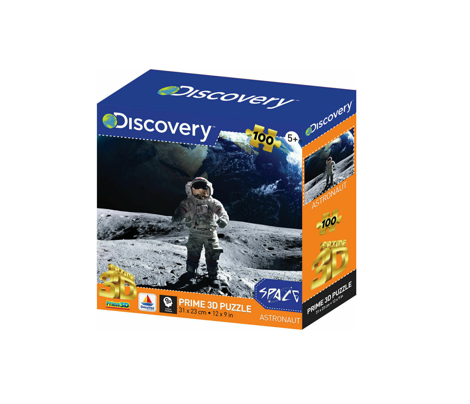 Discovery - Αστροναύτης 100pcs Puzzle 13757
