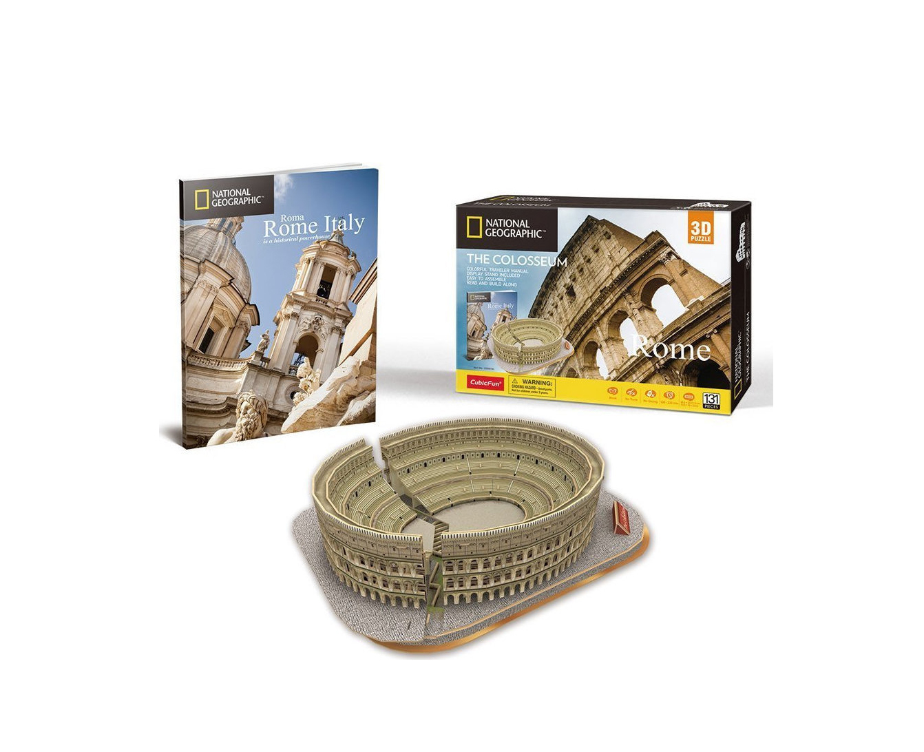 National Geographic The Colosseum 131pcs Puzzle DS0976h