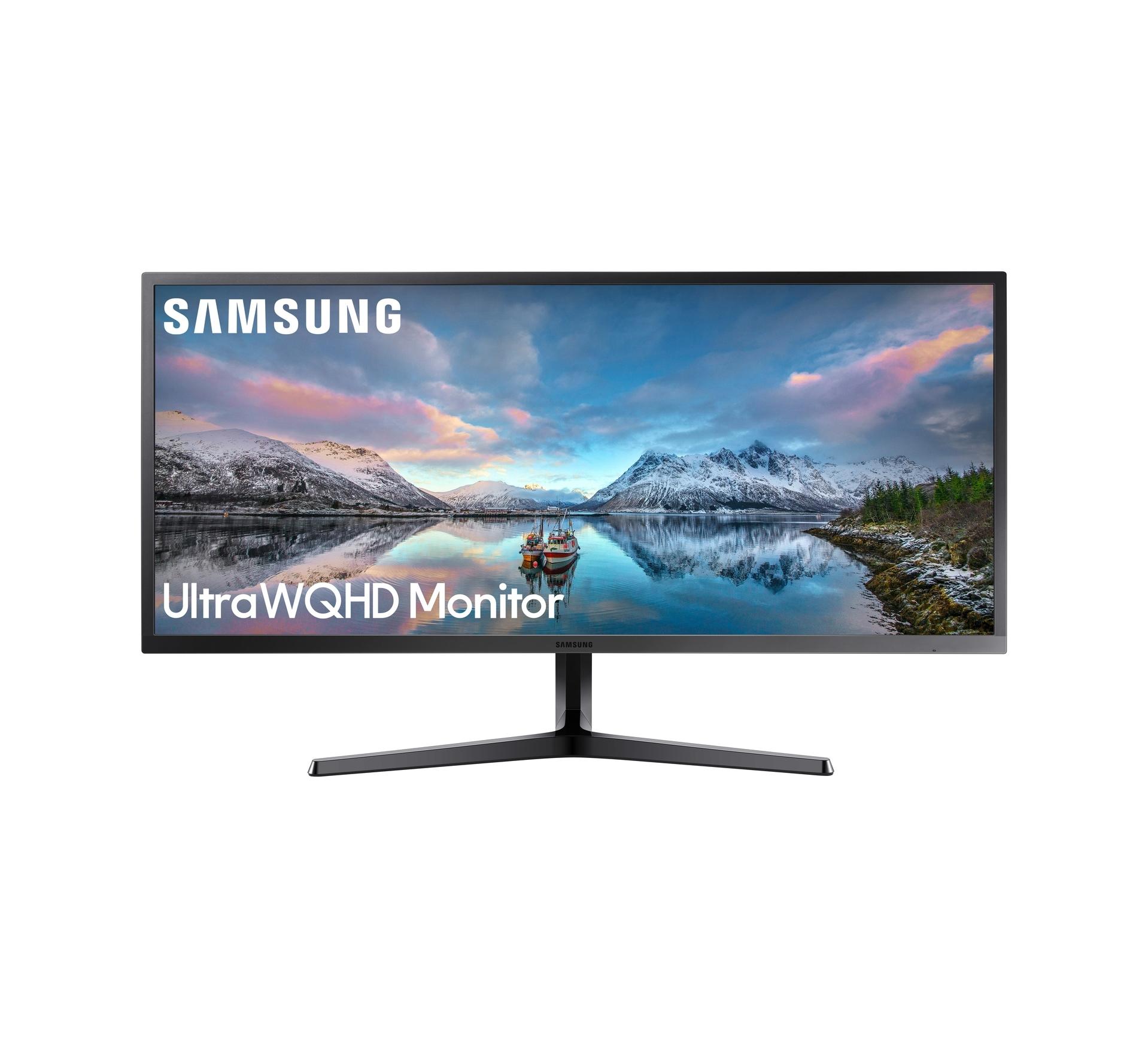 """Samsung LS34J550WQ 34"""" Οθόνη Πληρωμή έως 24 δόσεις"""