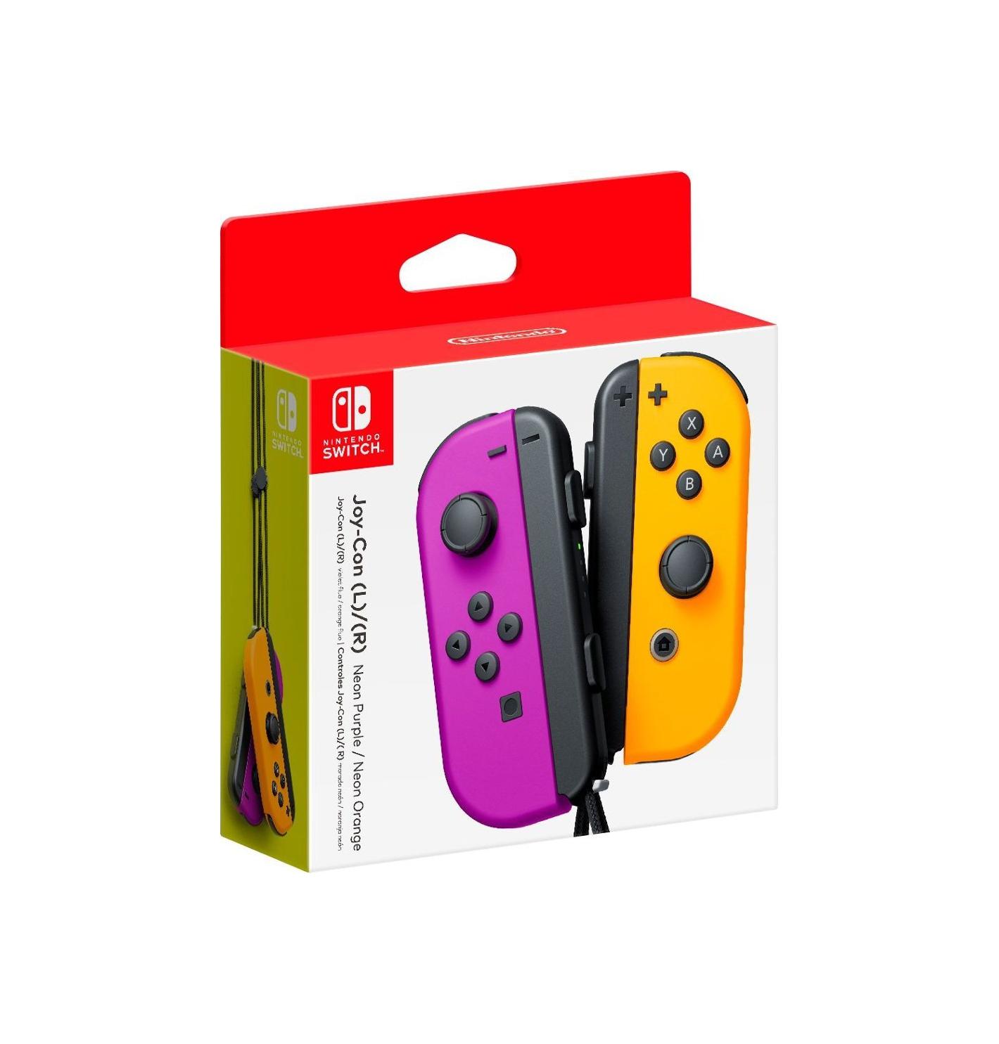 Nintendo Joy-Con Set Purple/Neon Orange 10002888