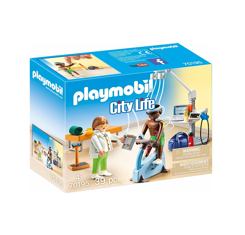 Playmobil City Life: Physical Therapist 70195