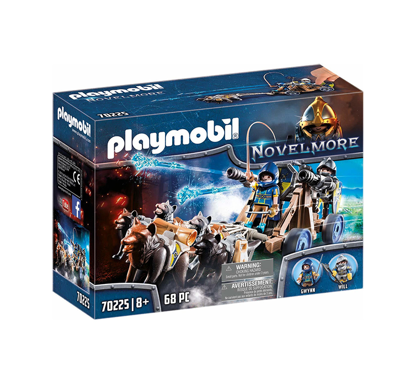 Playmobil Novel More: Wolf Team and Water Cannon 70225
