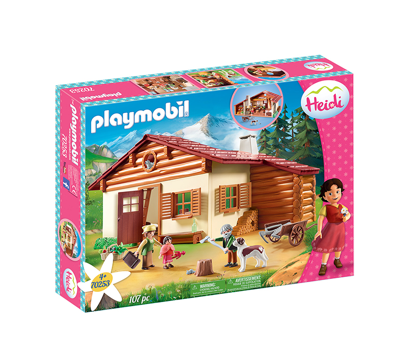 Playmobil Heidi: Η Χάιντι με τον Παππού της στην Καλύβα 70253