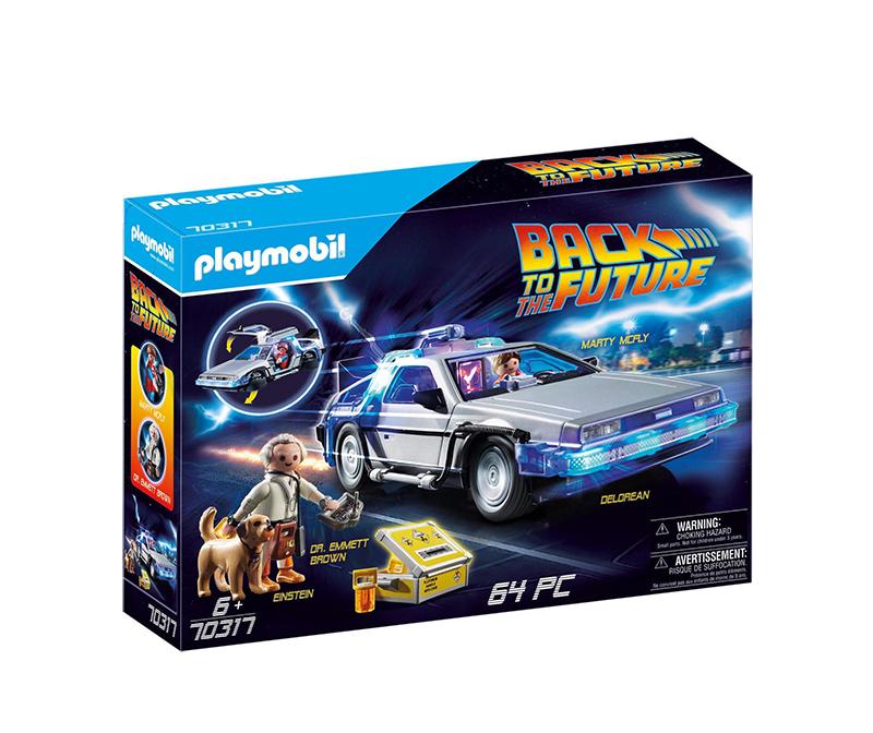 Playmobil Back to the Future - Συλλεκτικό Όχημα Ντελόριαν 70317