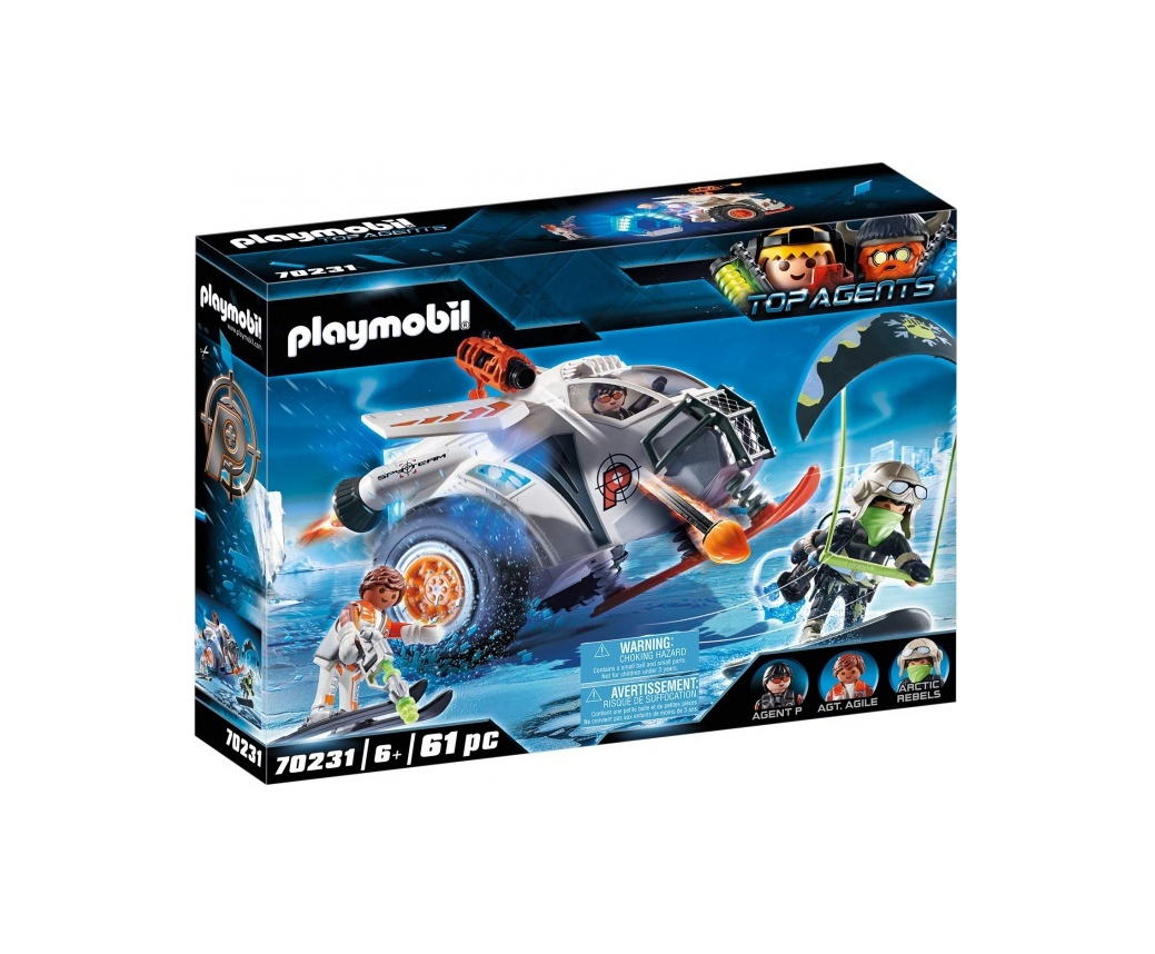 Playmobil Top Agents: Spy Team Snow Glider 70231
