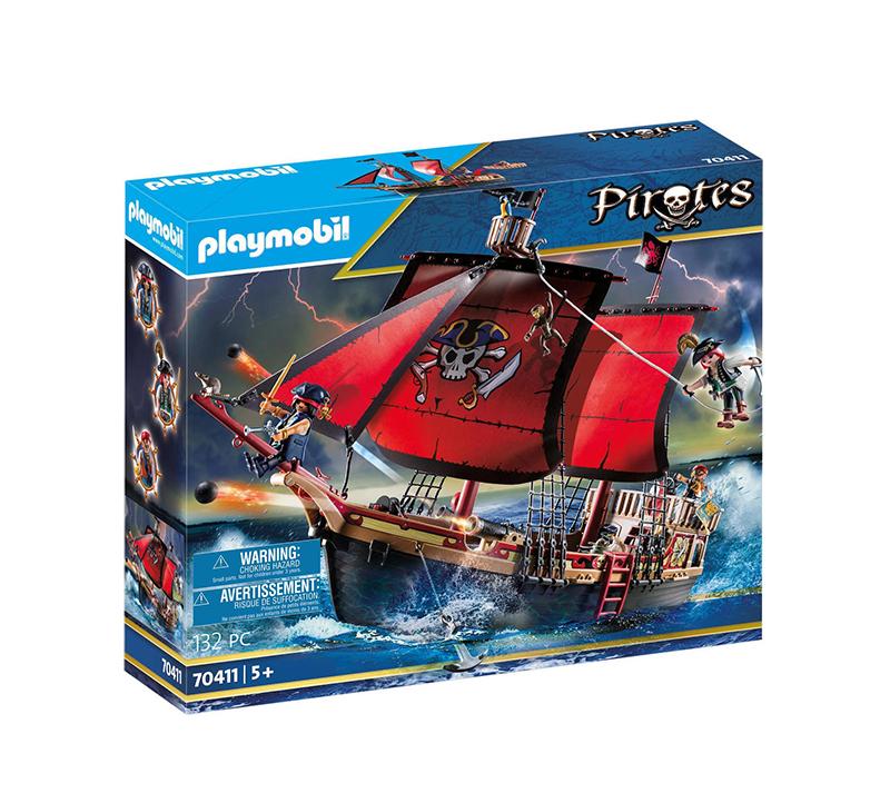 Playmobil Pirates: Πειρατική Ναυαρχίδα 70411