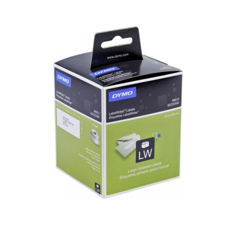 Dymo Large Adress-Labels 99012 89 x 36 mm 2 x 260 Labels S0722400