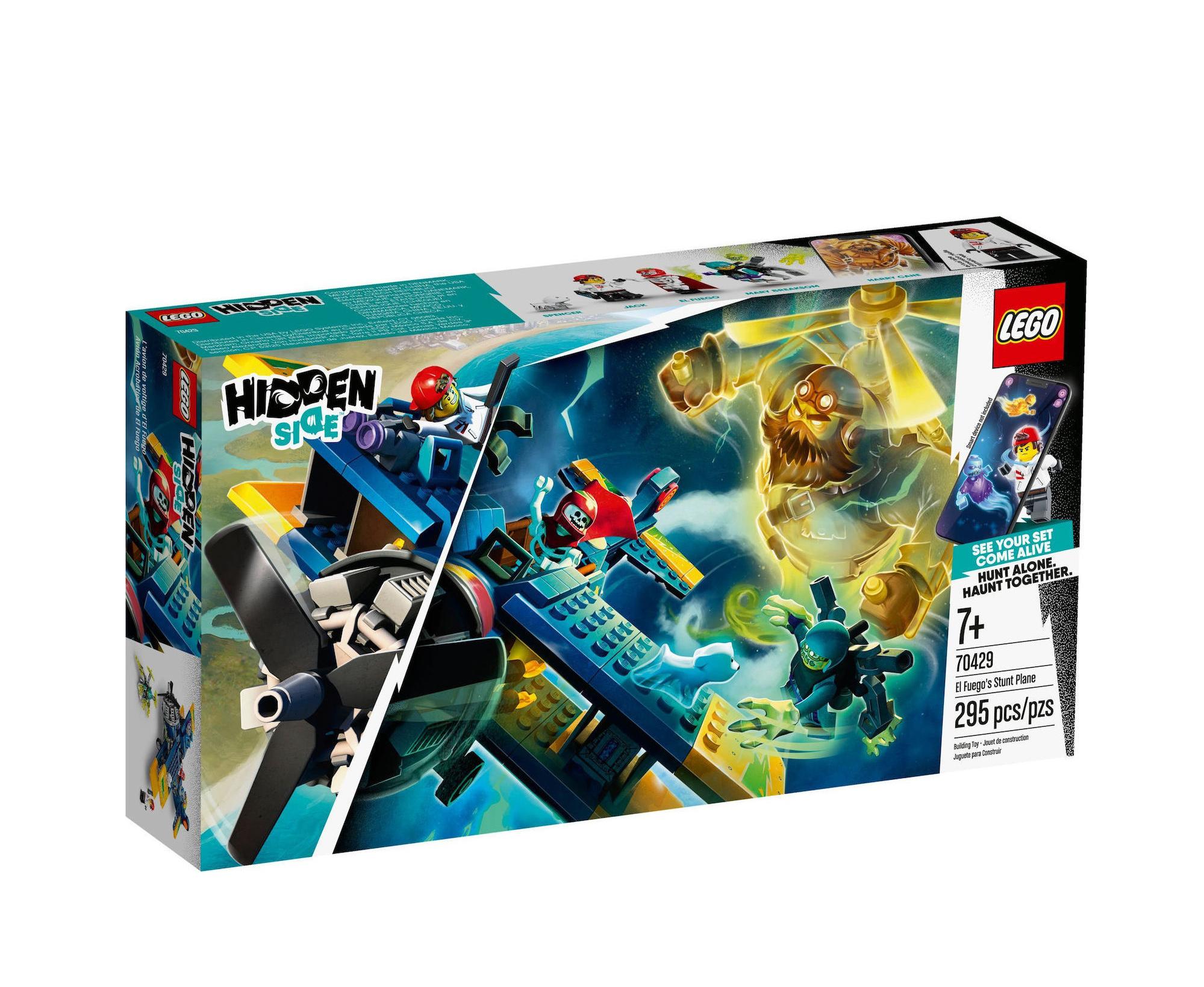 Lego Hidden Side: El Fuego's Stunt Plane 70429