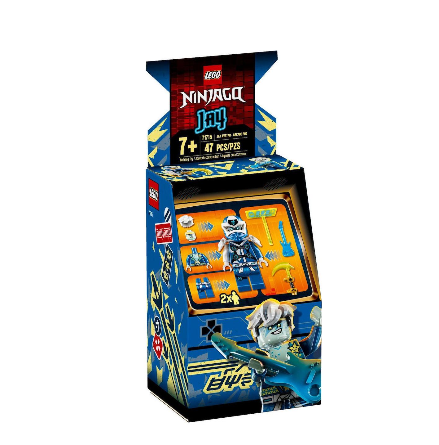 Lego Ninjago: Jay Avatar Arcade Pod 71715