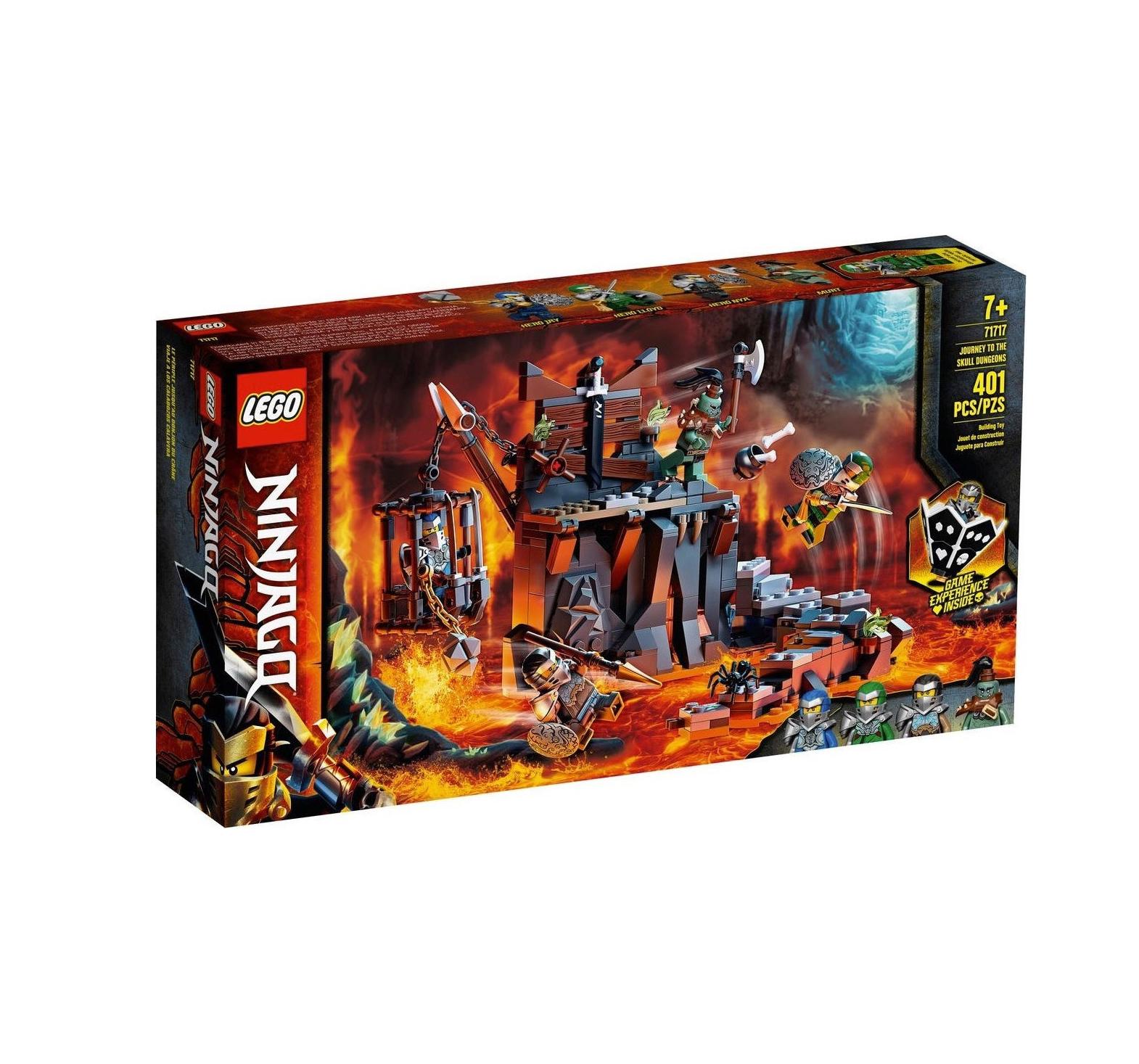 Lego Ninjago: Journey to Skull Dungeons 71717
