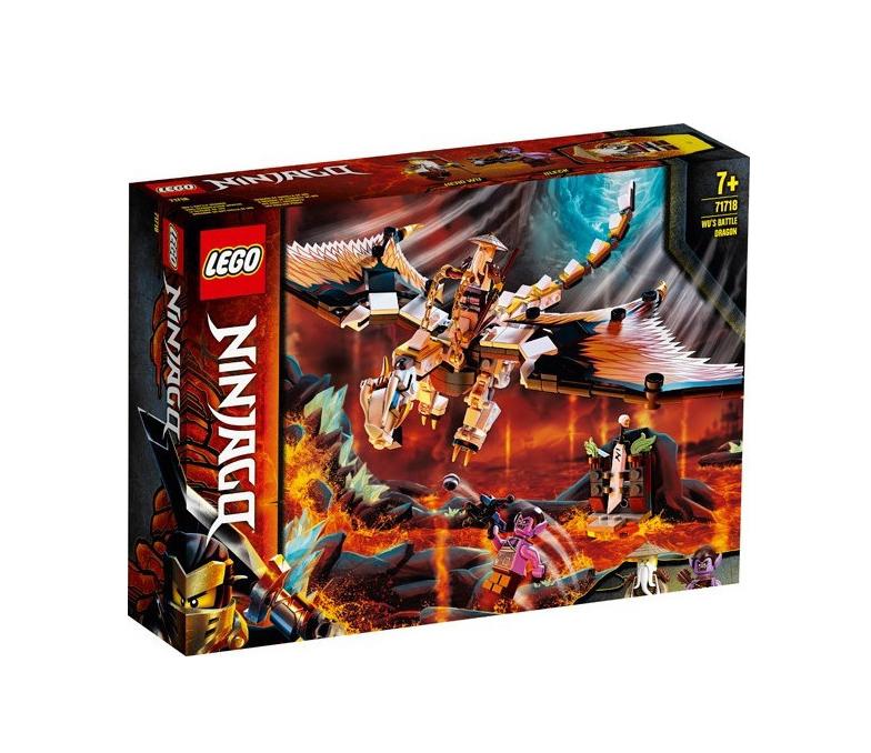 Lego Ninjago: Wu's Battle Dragon 71718