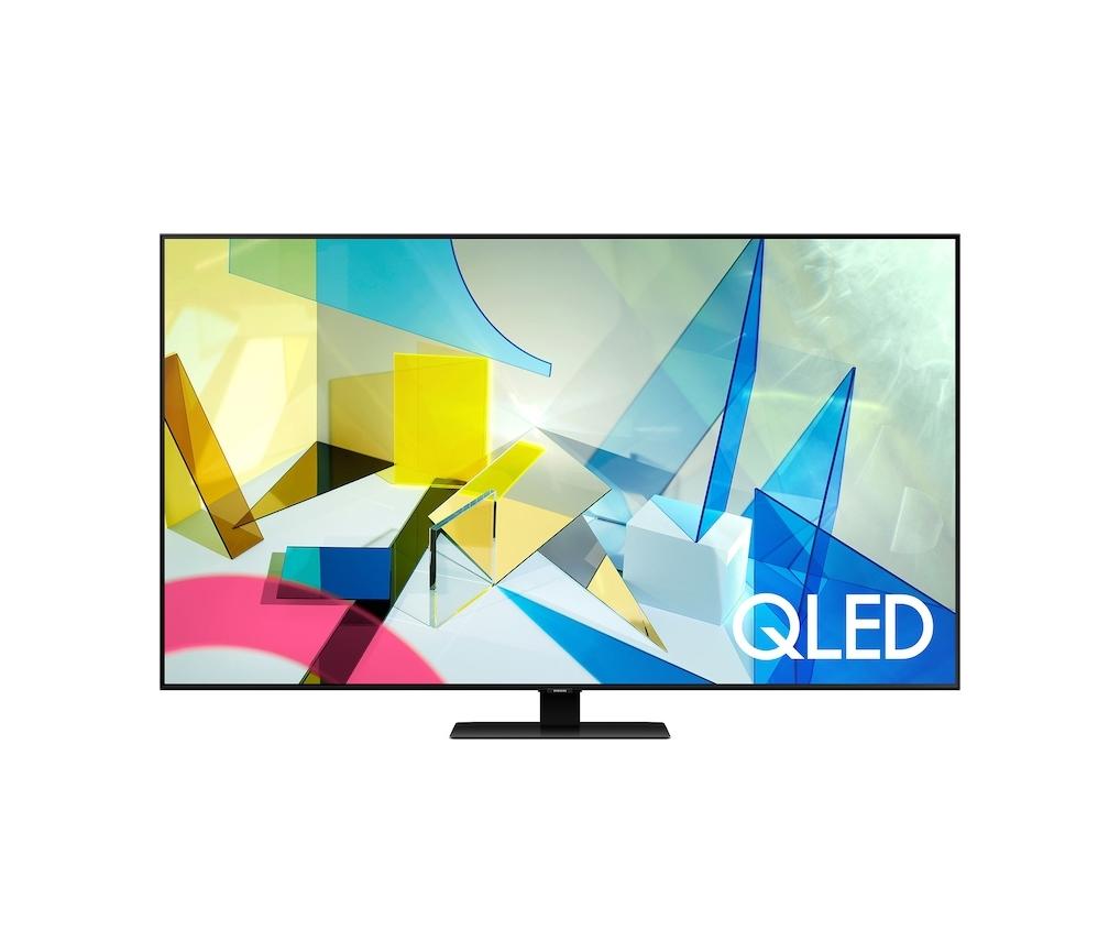 """Samsung QE55Q80T Smart 4K UHD 55"""" Τηλεόραση Πληρωμή έως 24 δόσεις"""