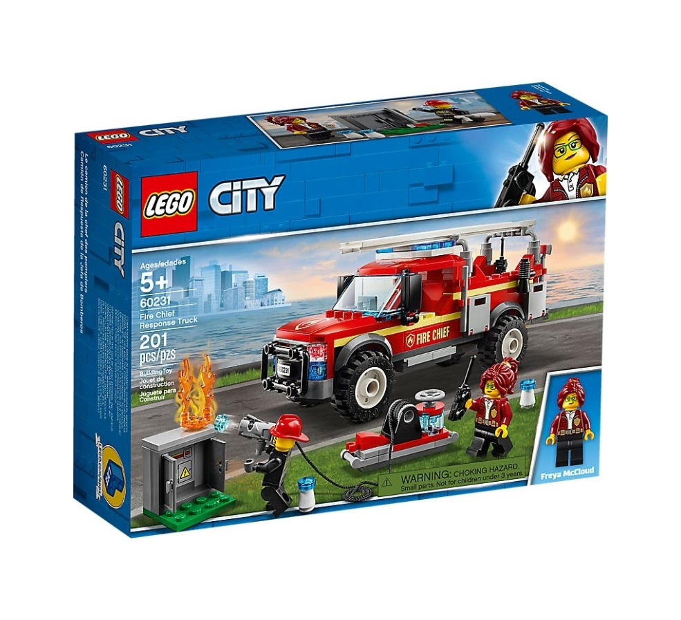 Lego City: Fire Chief Response Truck 60231