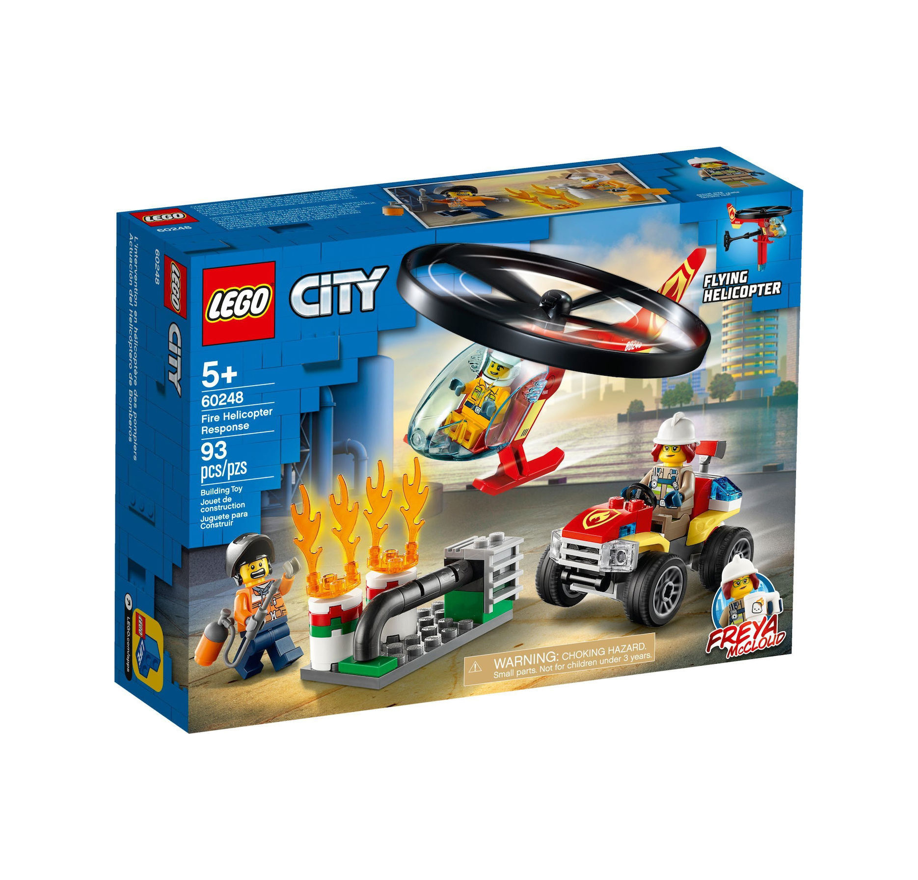 Lego City: Helicopter Fire Response 60248