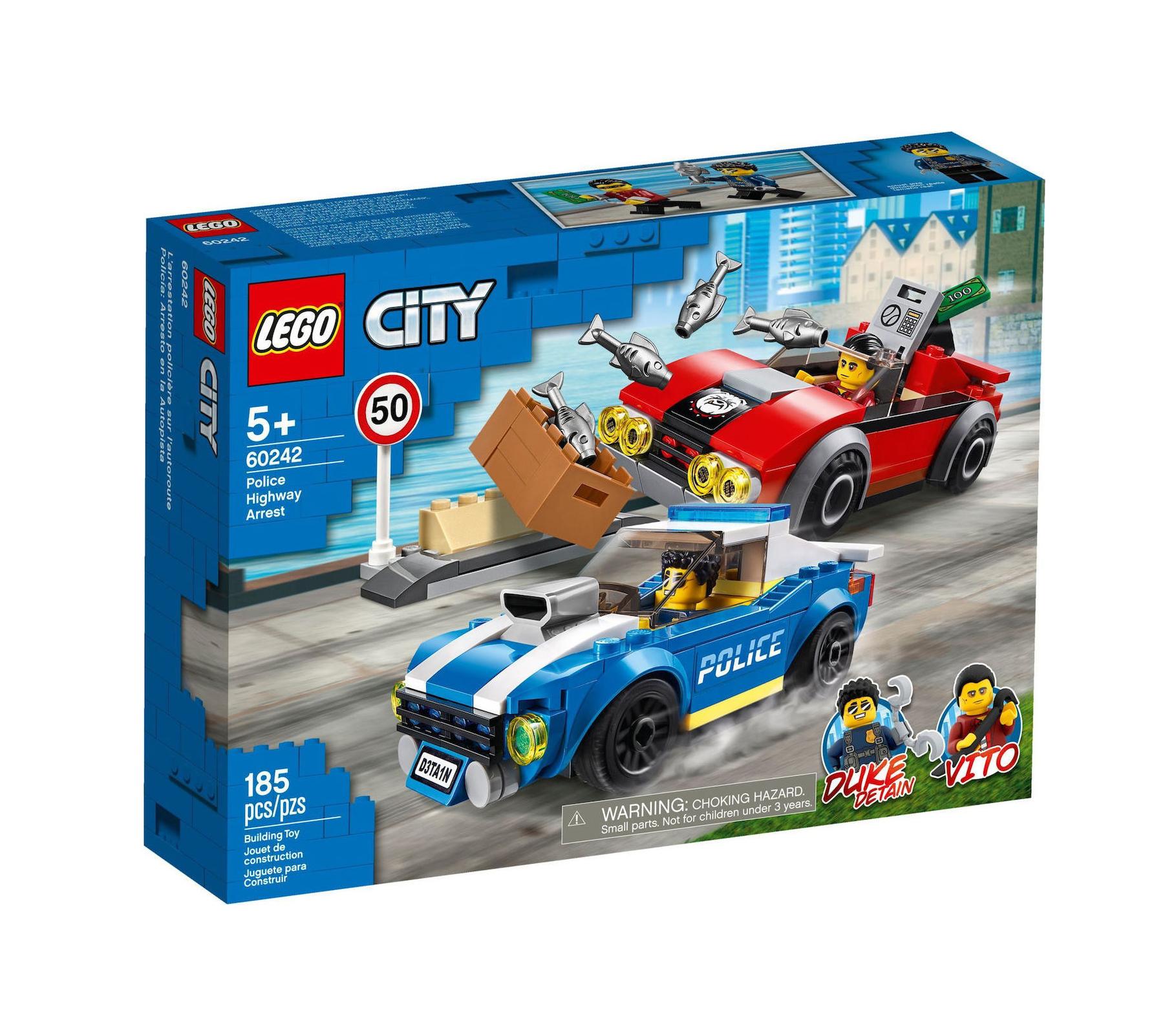 Lego City: Police Highway Arrest 60242
