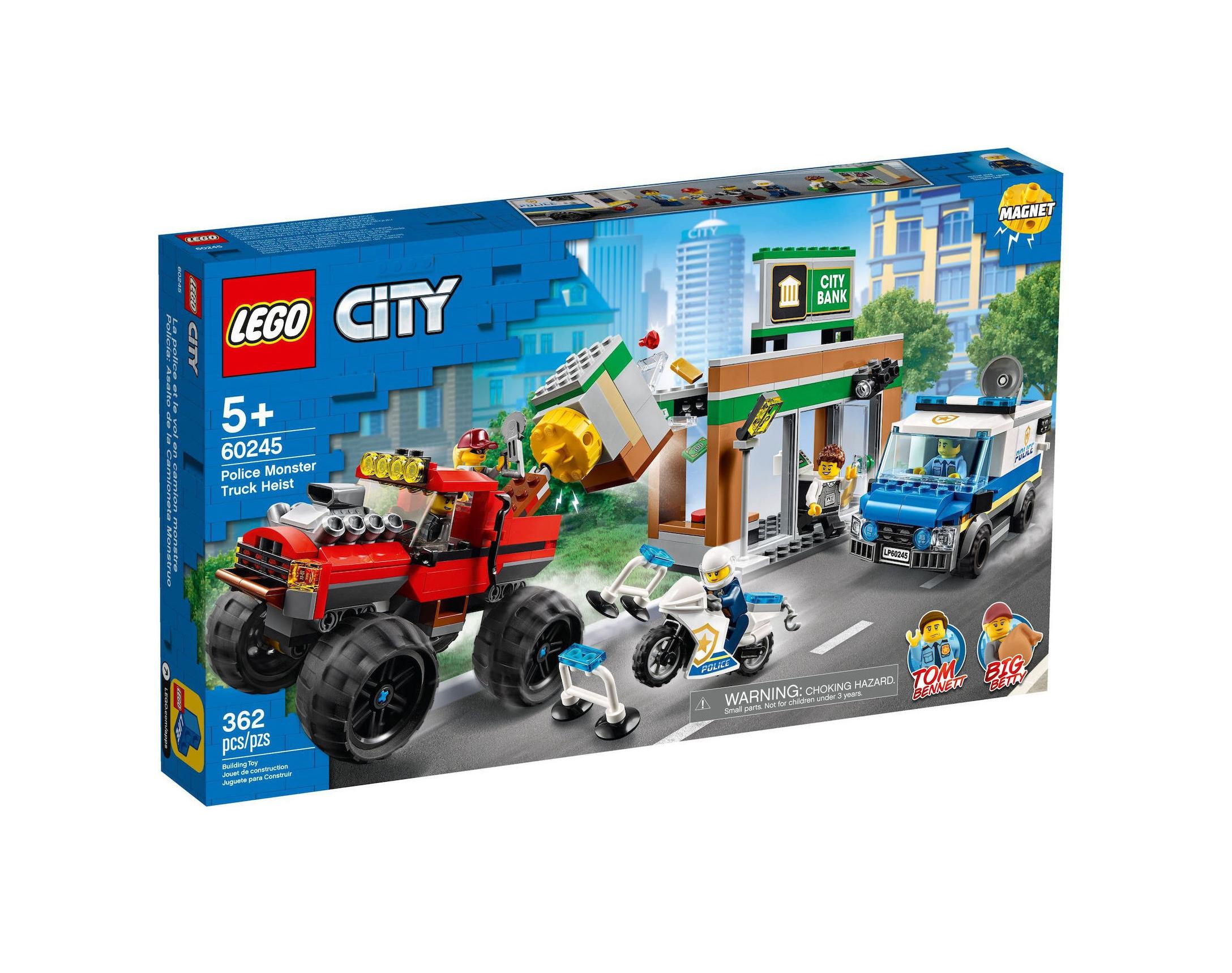 Lego City: Police Monster Truck Heist 60245