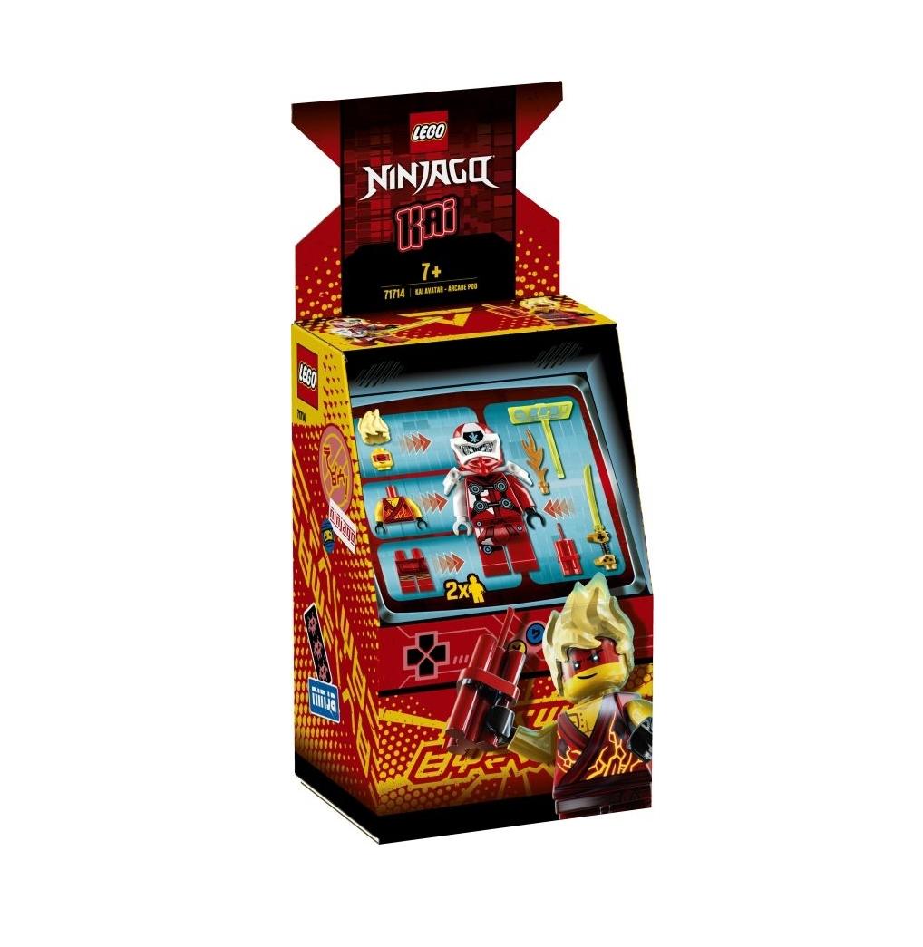 Lego Ninjago: Kai Avatar Arcade Pod 71714