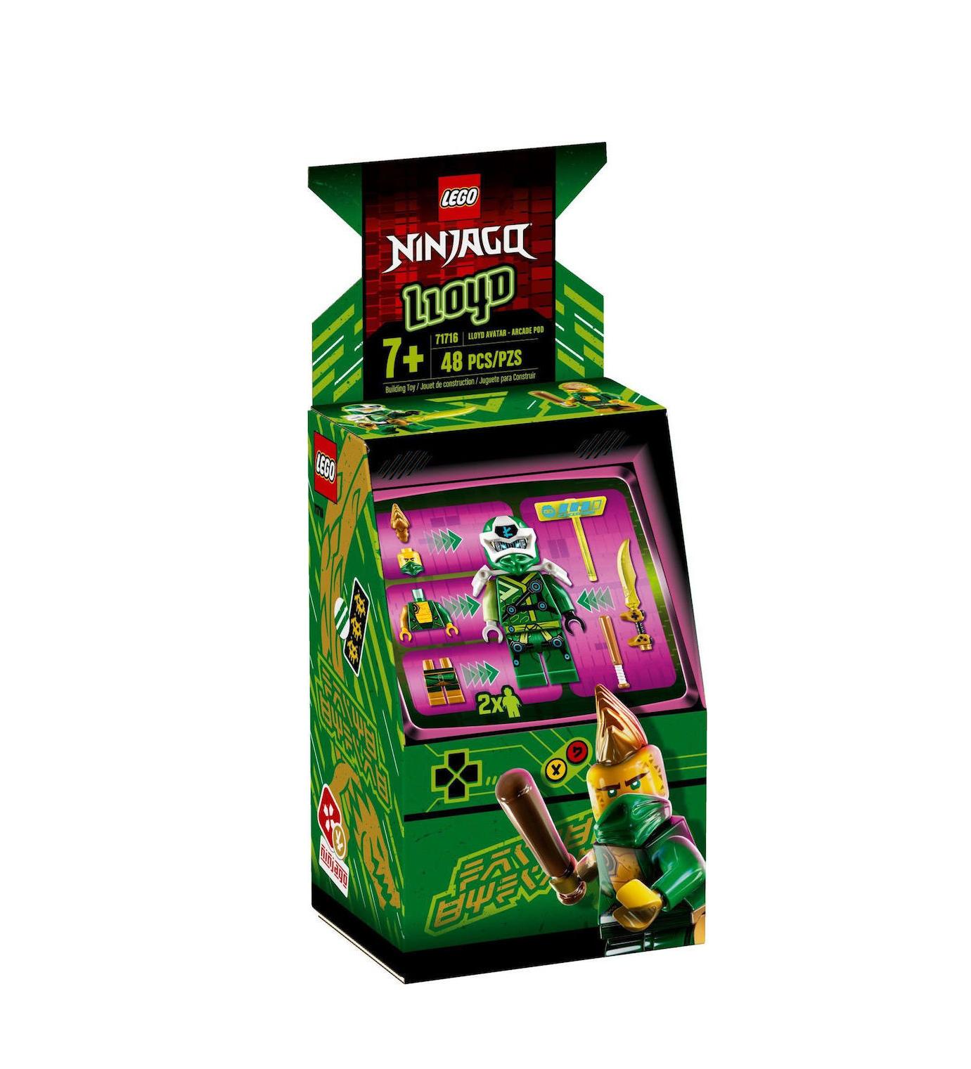 Lego Ninjago: Lloyd Avatar Arcade Pod 71716