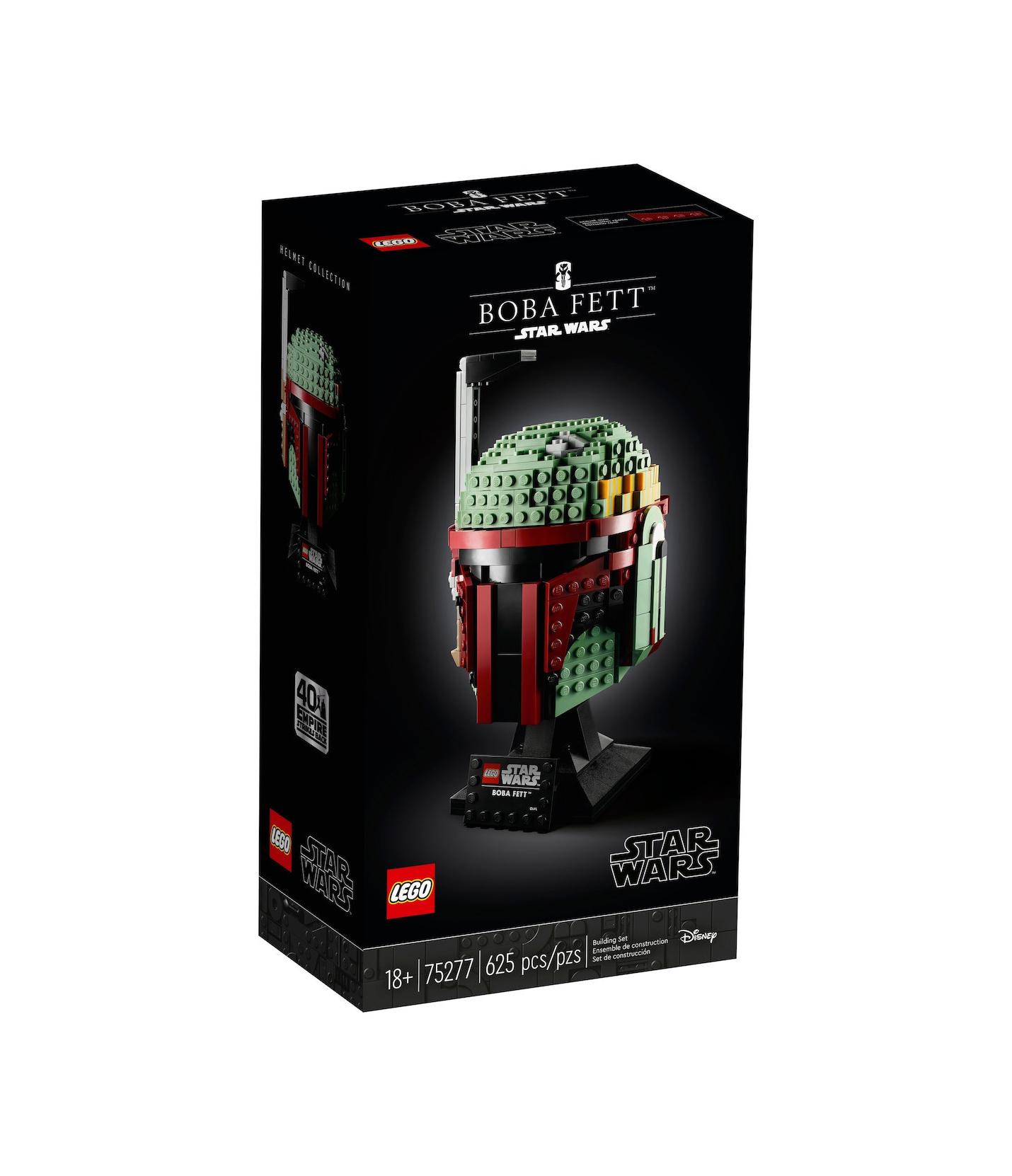 Lego Star Wars: Boba Fett Helmet 75277